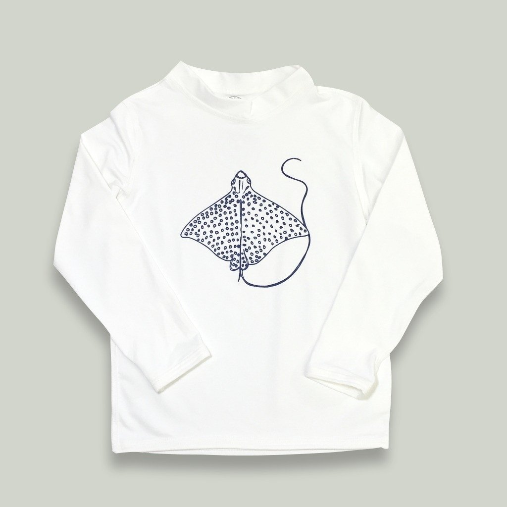 Honey Bee Tees Eagle Ray Long Sleeve Rash Guard UPF 50, $30.50-.jpeg