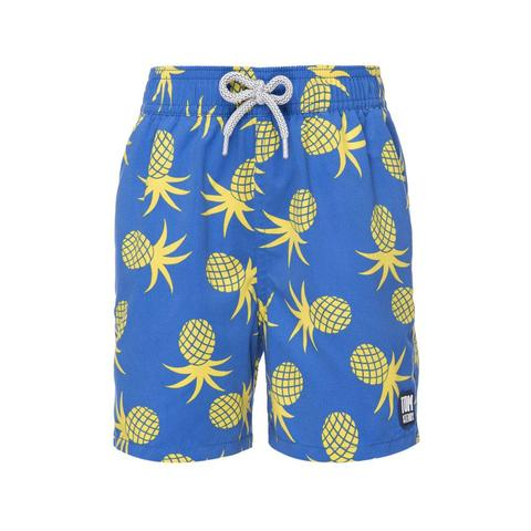 Tom and Teddy French Blue Pineapples Swimsuit, $59.95-.jpg