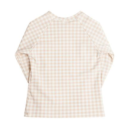 Minnow Swim Tan Gingham Rashguard, $52-.jpg