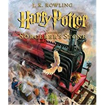 Harry Potter and the Sorcerer's Stone Illustrated Book Copy, $25-.jpg