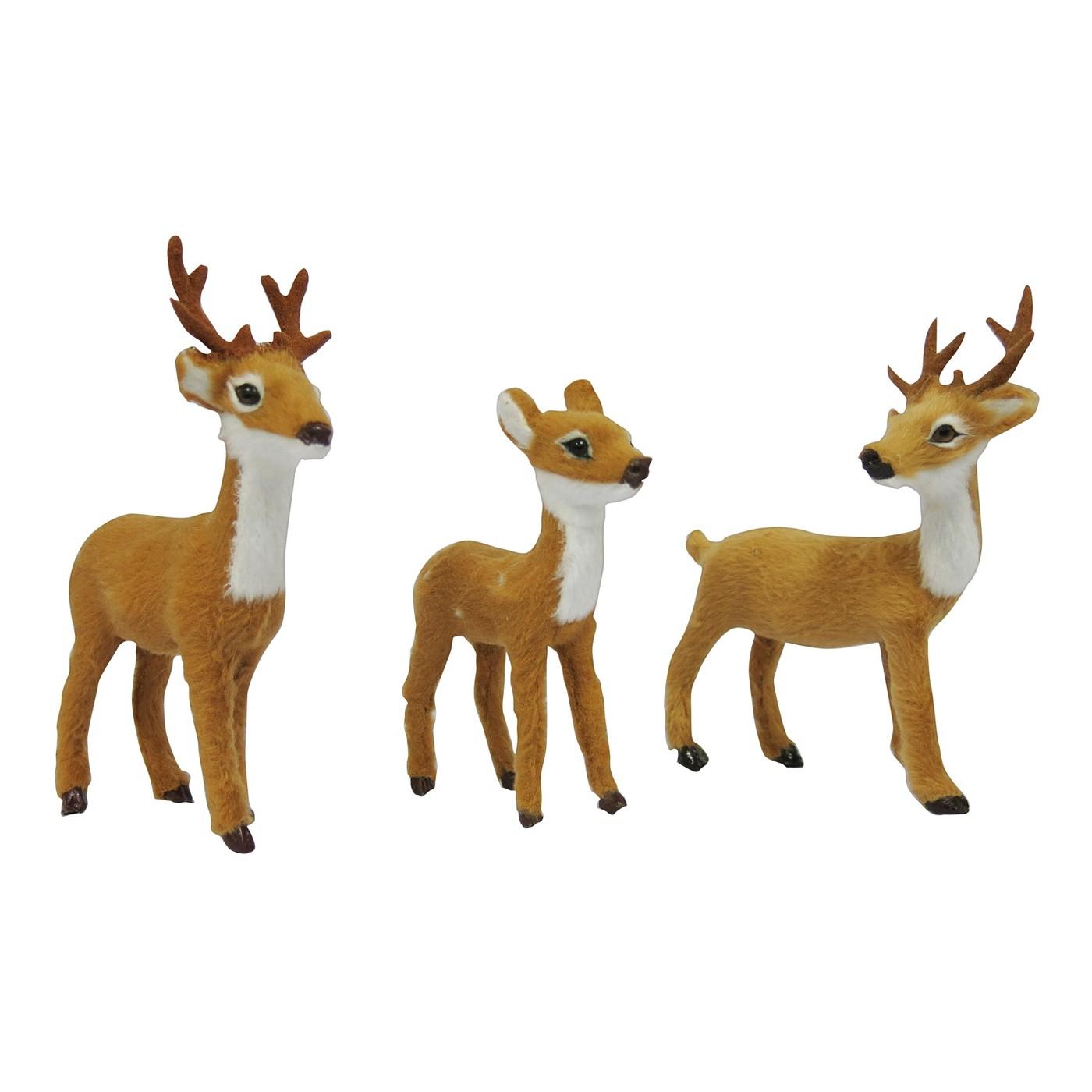 3ct Mini Deer Figurine Set, $10-.jpeg