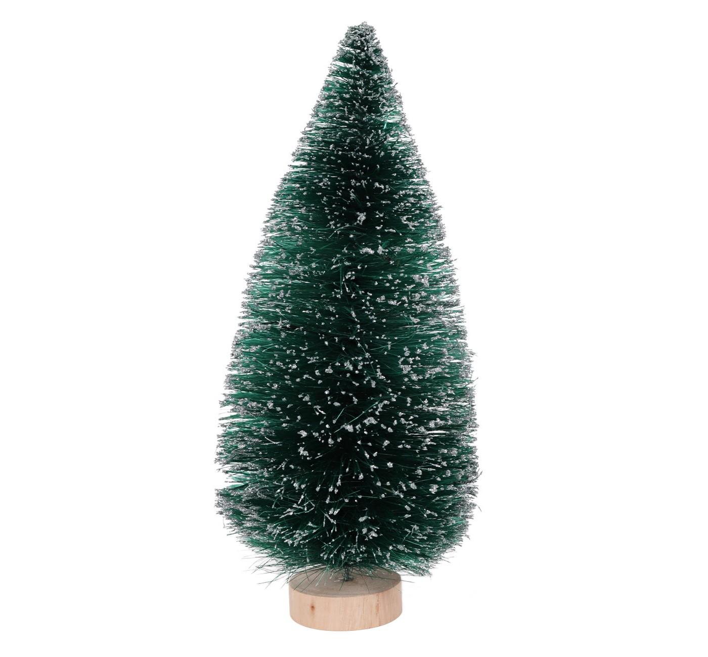 Large Bottle Brush Christmas Tree Green, $8-.jpeg