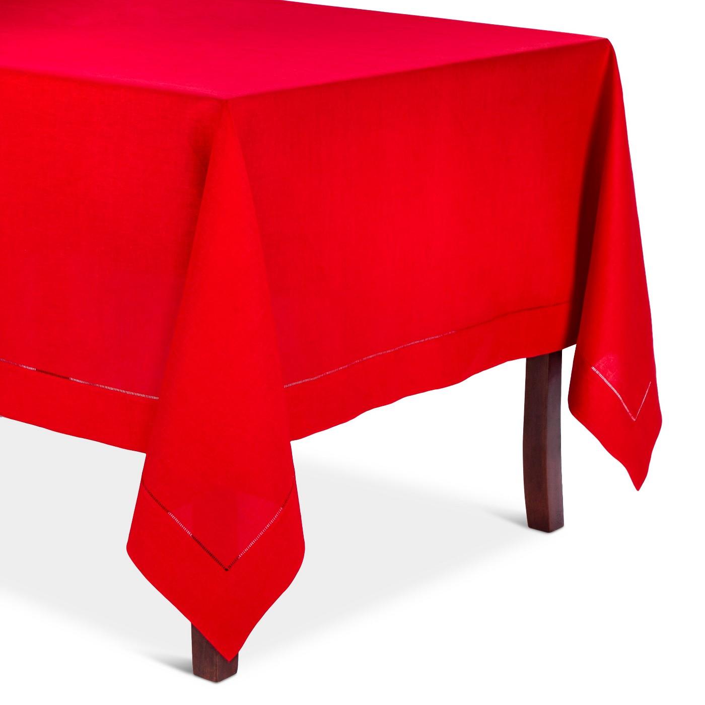 Red Hempstitched Tablecloth, $66.49-.jpeg