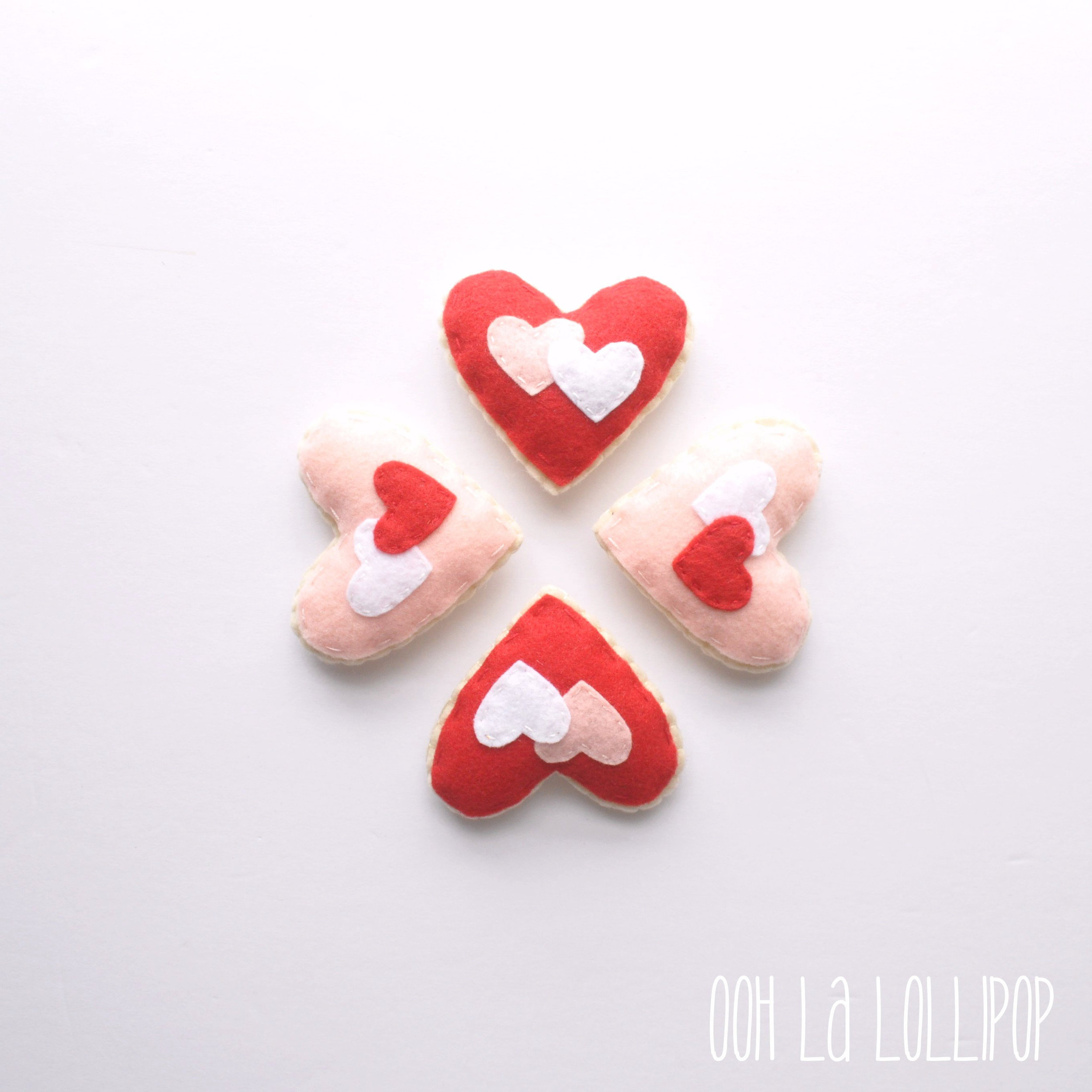 Oohlalollipop Felt Heart-Shaped Cookies, $14-.jpg
