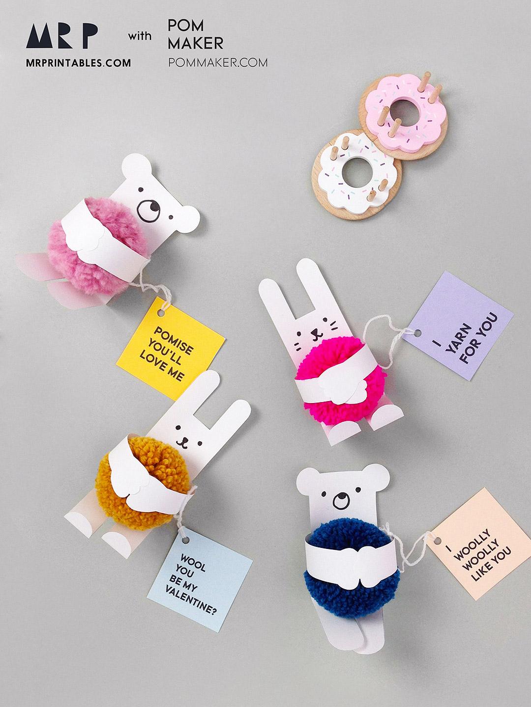 Valentines (Mr. Printables Pom-Pom Animals).jpg