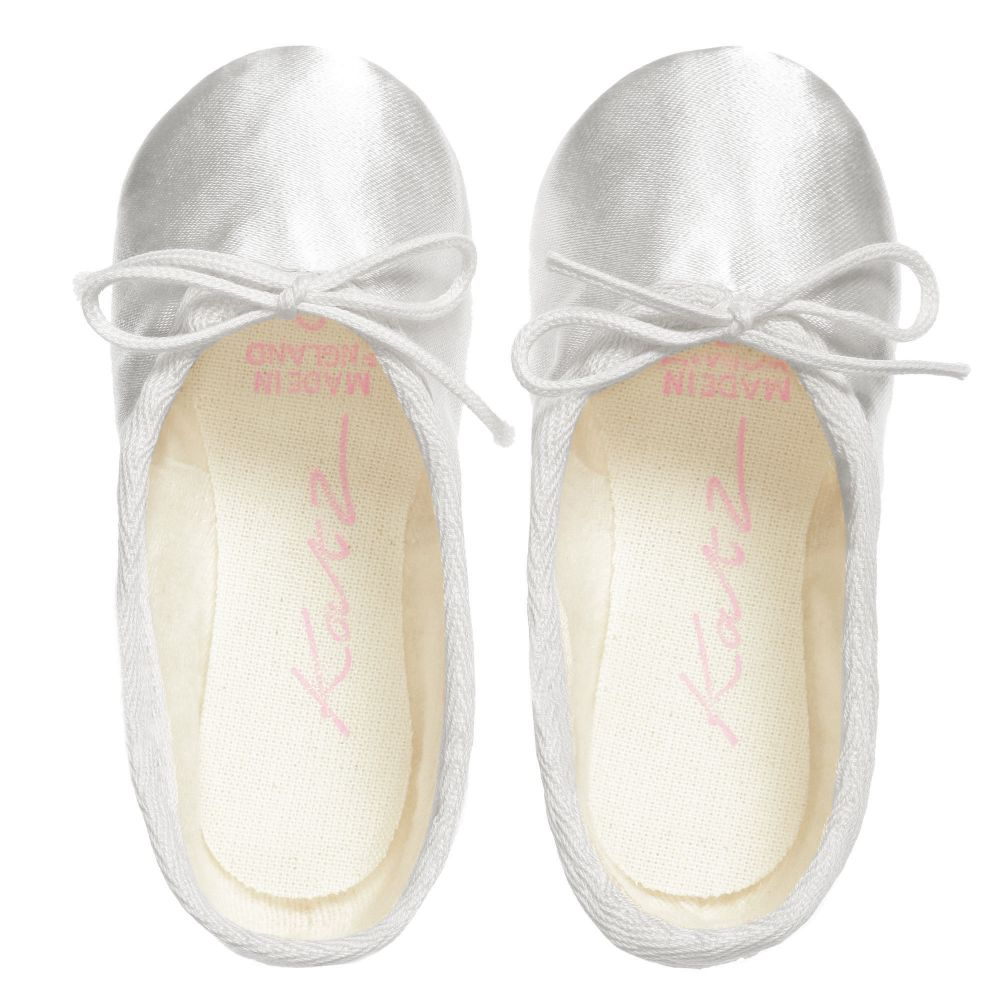 Children's Salon Katz Ballet Slippers, $21-.jp