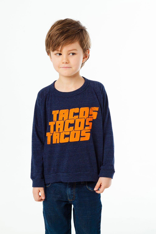 Tacos Tacos Tacos Sweatshirt Chaser Brand $35-.jpg