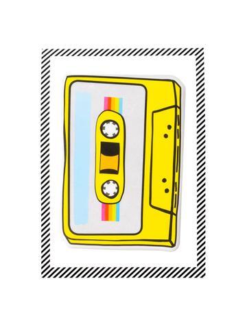 Puffy Cassette Sticker, $5.95-