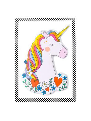 Puffy Unicorn Sticker, $5.95-