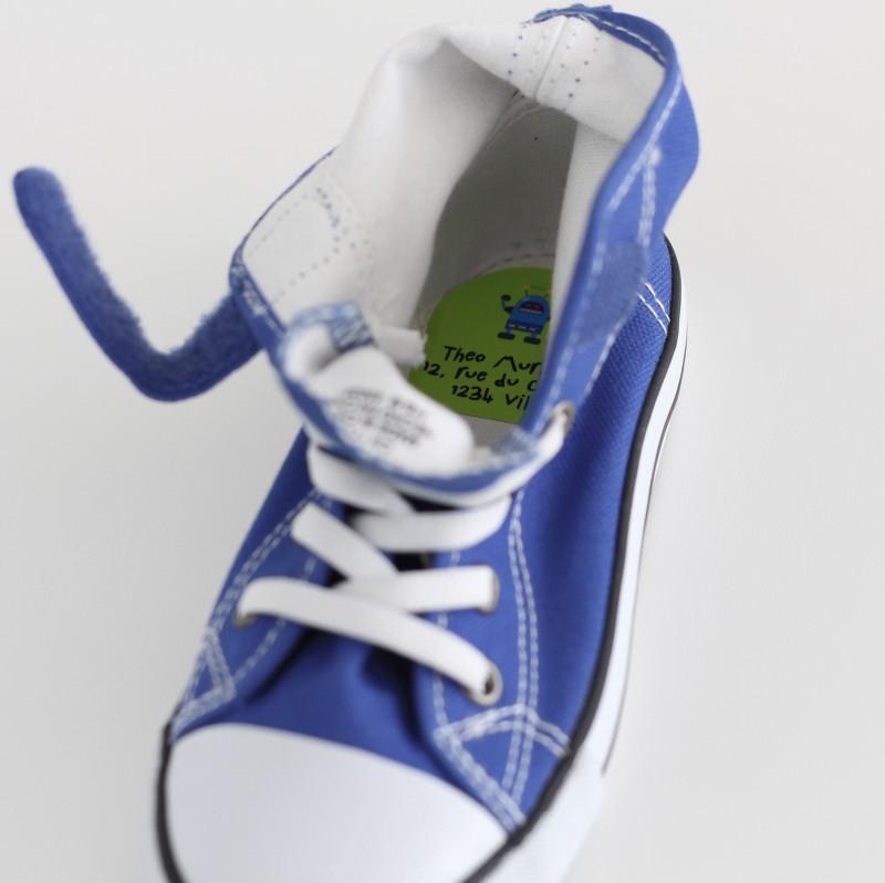 Sticker Kid Shoe Label