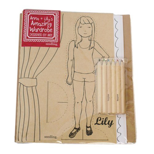 Anna + Lilly's Amazing Wardrobe Coloring Book
