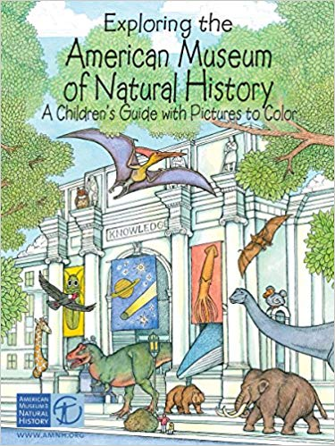 Exploring the American Museum of Natural History Coloring Book