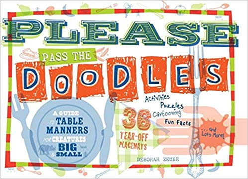 Please Pass the Doodles Coloring Book