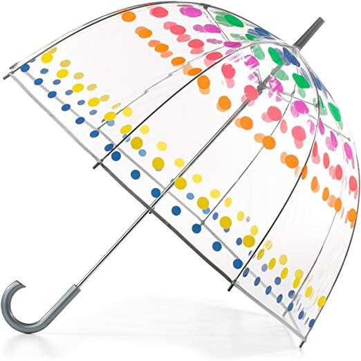 Clear Bubble Umbrella, Dots $16.50-