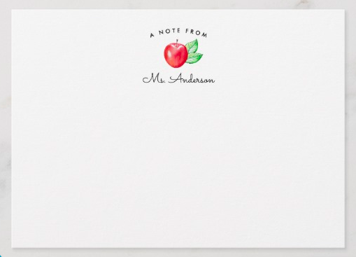 Apple Stationery