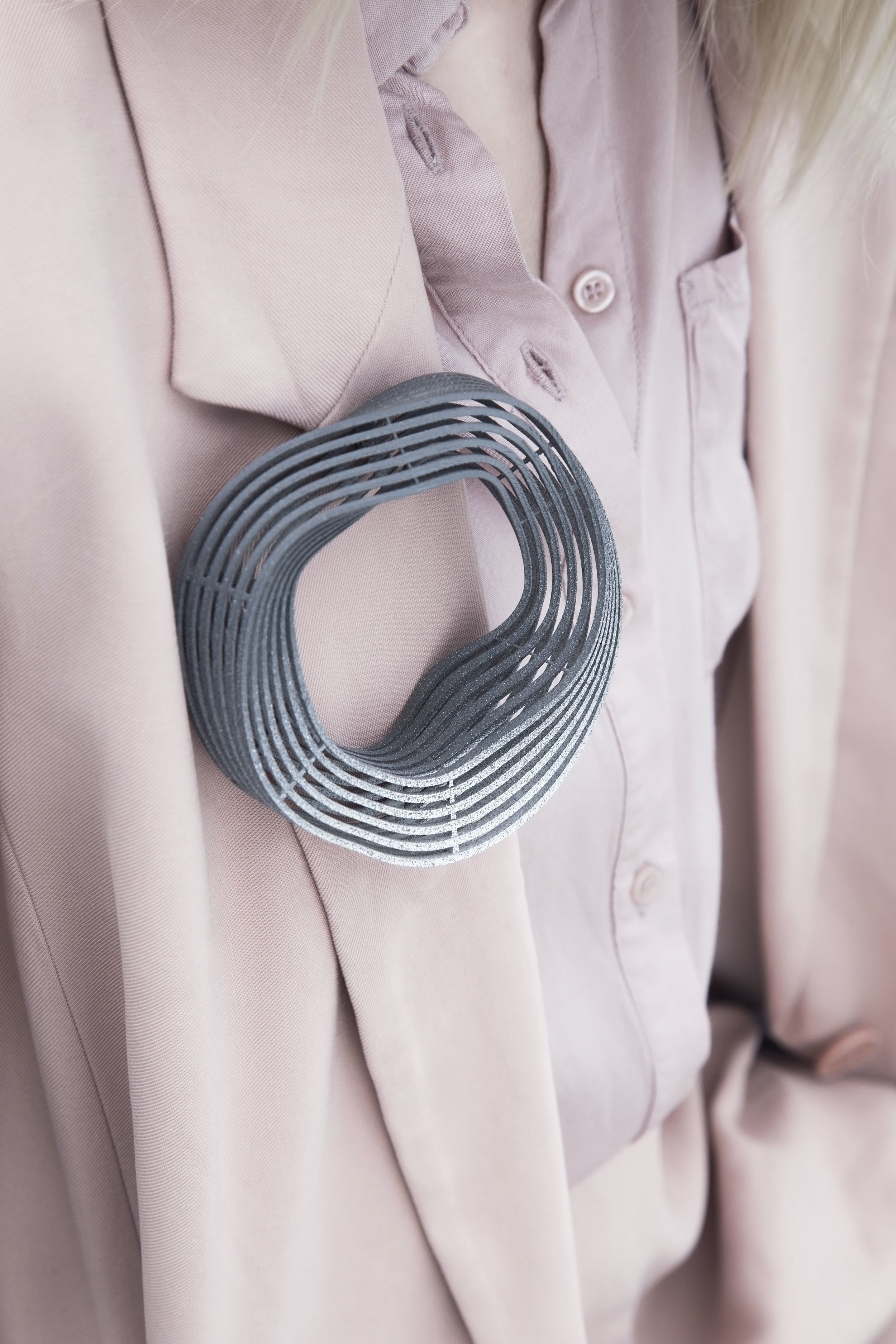 Cable Management Brooch