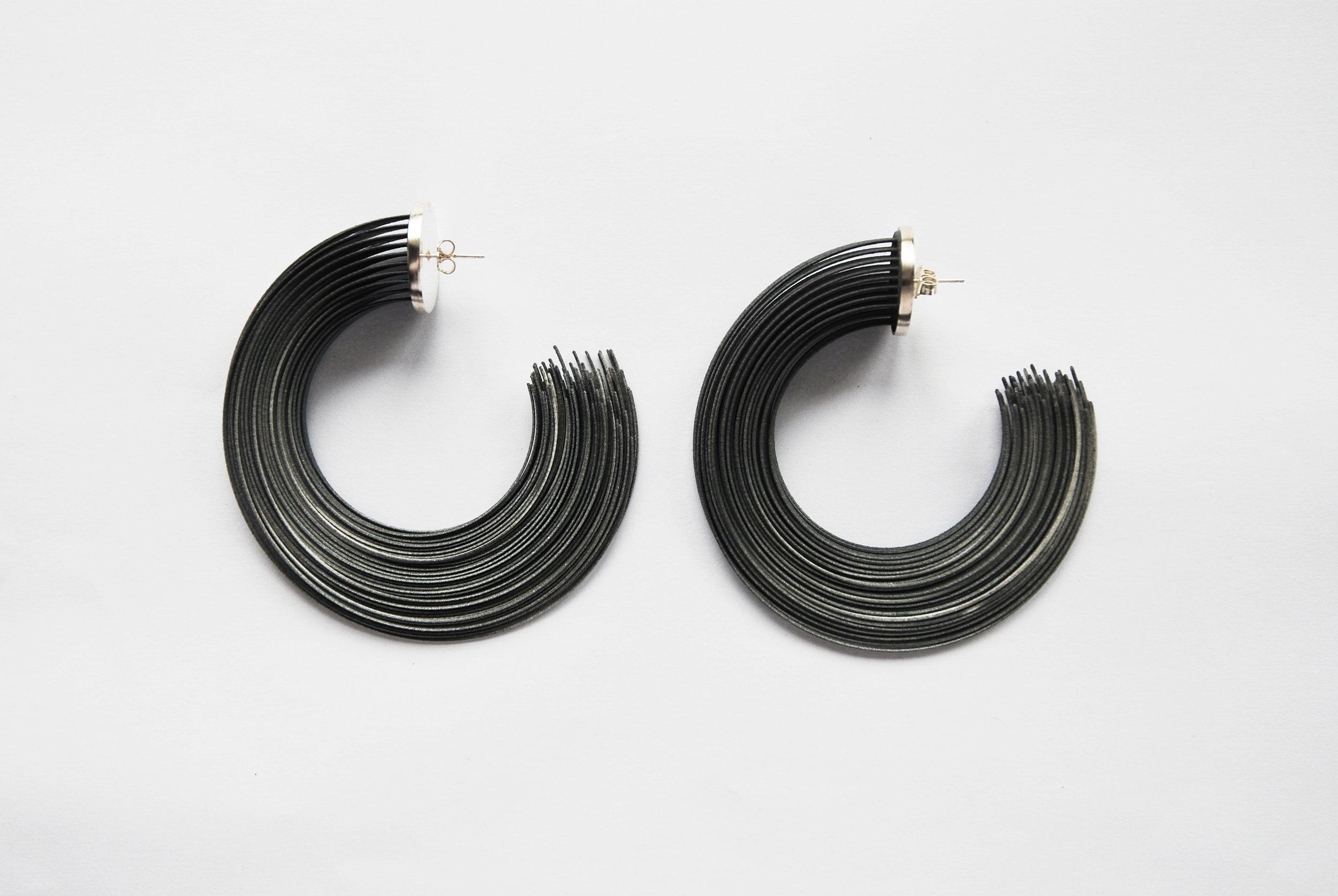 Large Brushstroke Earrings