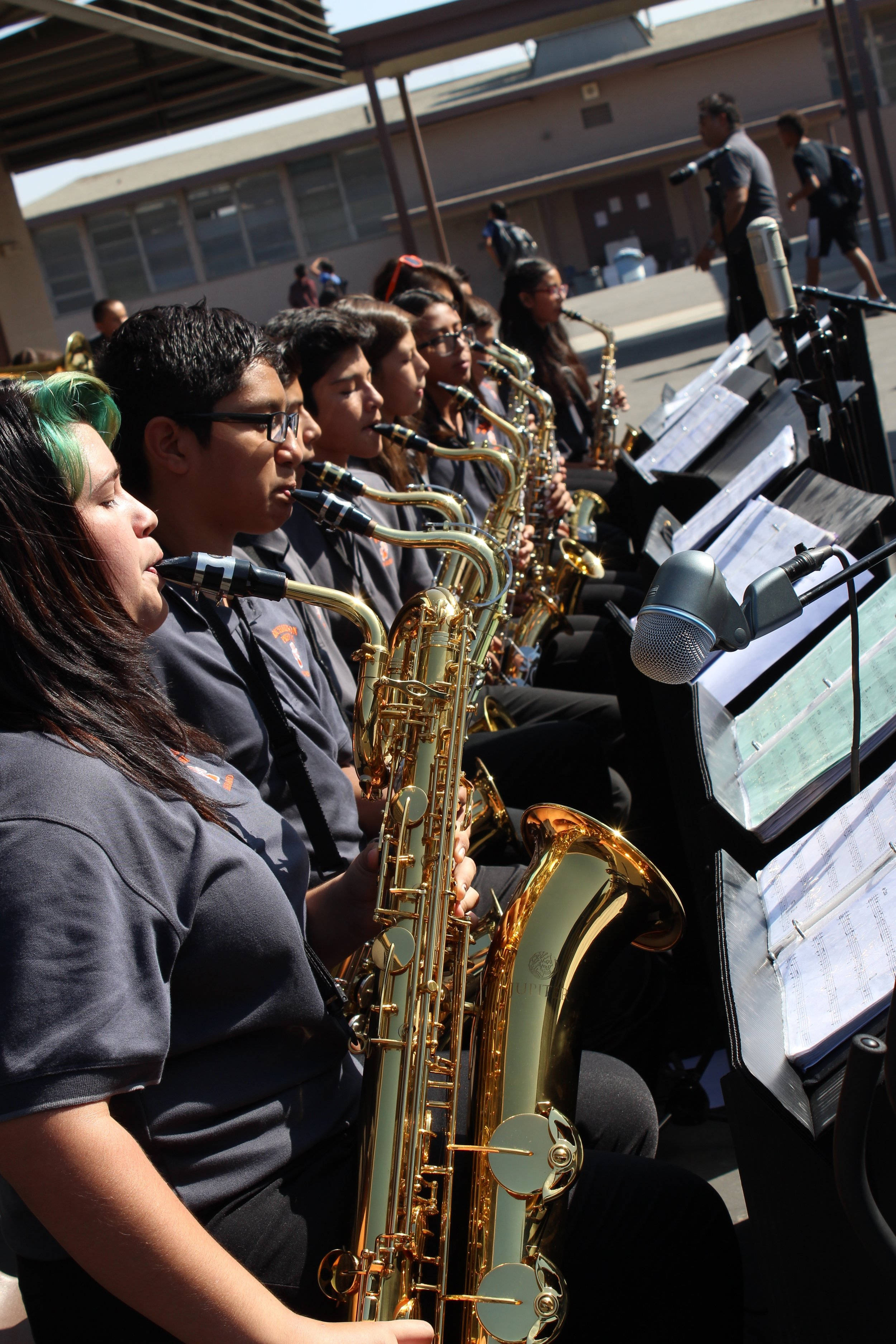 Jazz Band Blue Ribbon Assembly 2016