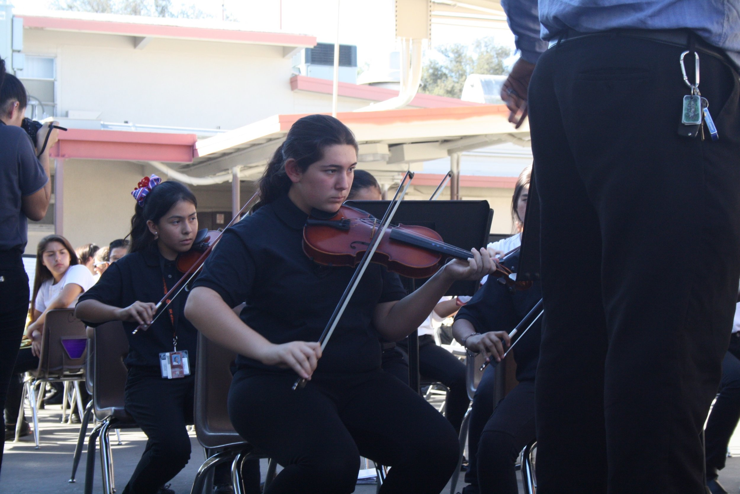 Intermediate Orchestra Veteran's Day Assembly 2016