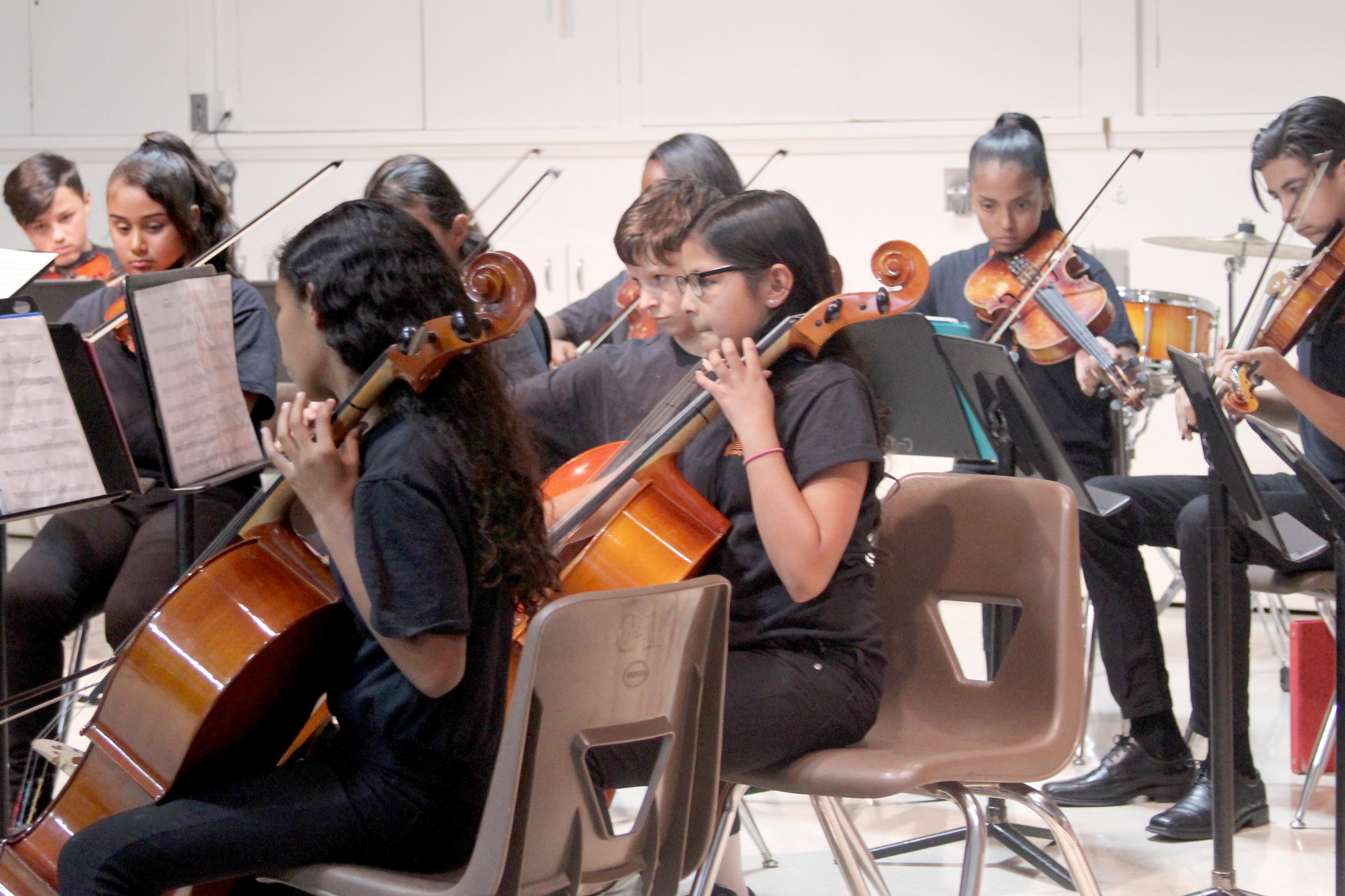 Electives Assembly - Beginning Orchestra - April 14th, 2017