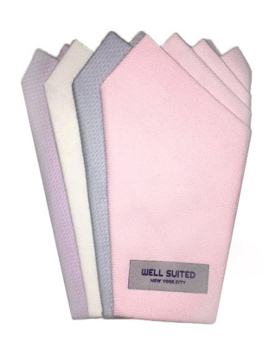 Pocket Squares from Well Suited NYC