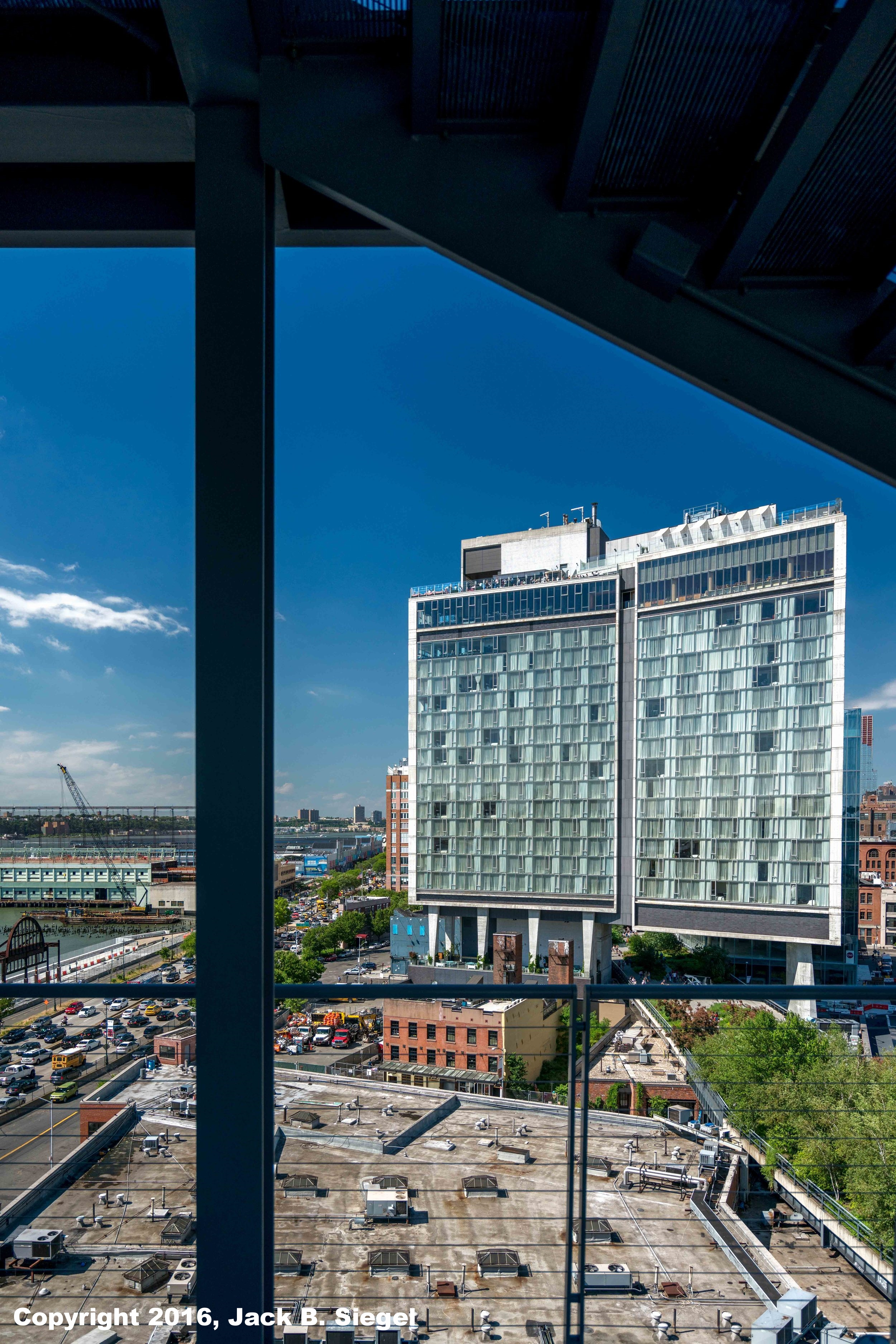 The Standard Line Hotel As Seen From the Whitney