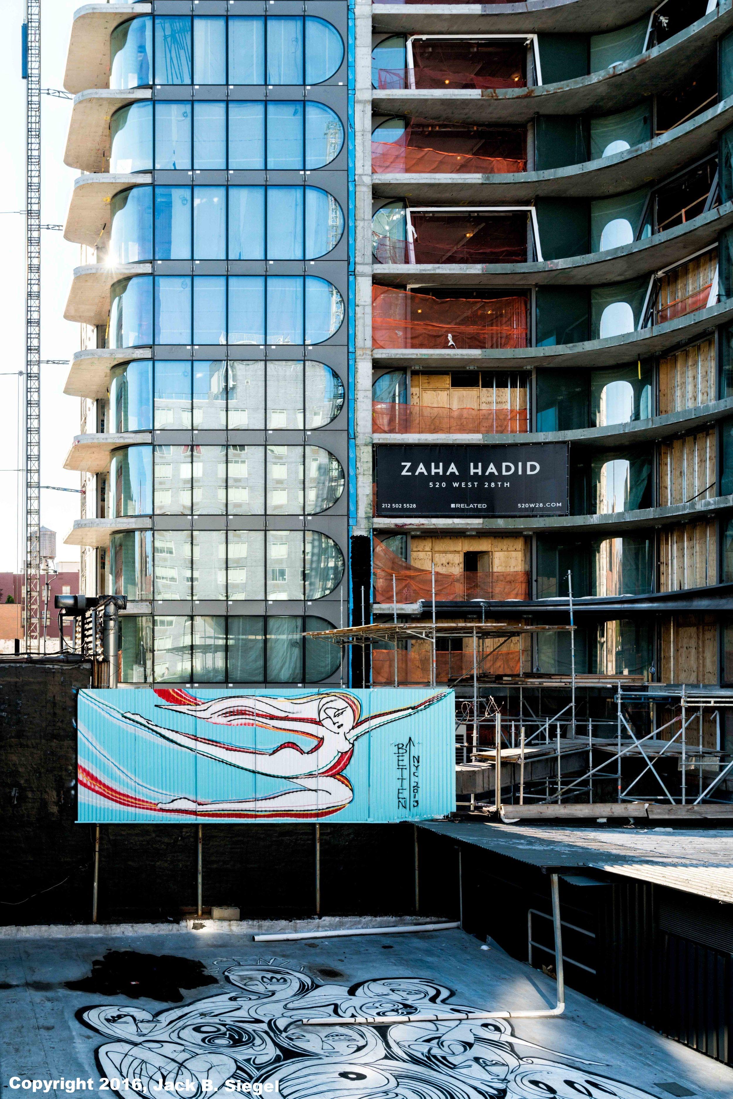 Zaha Hadid's High Line Project