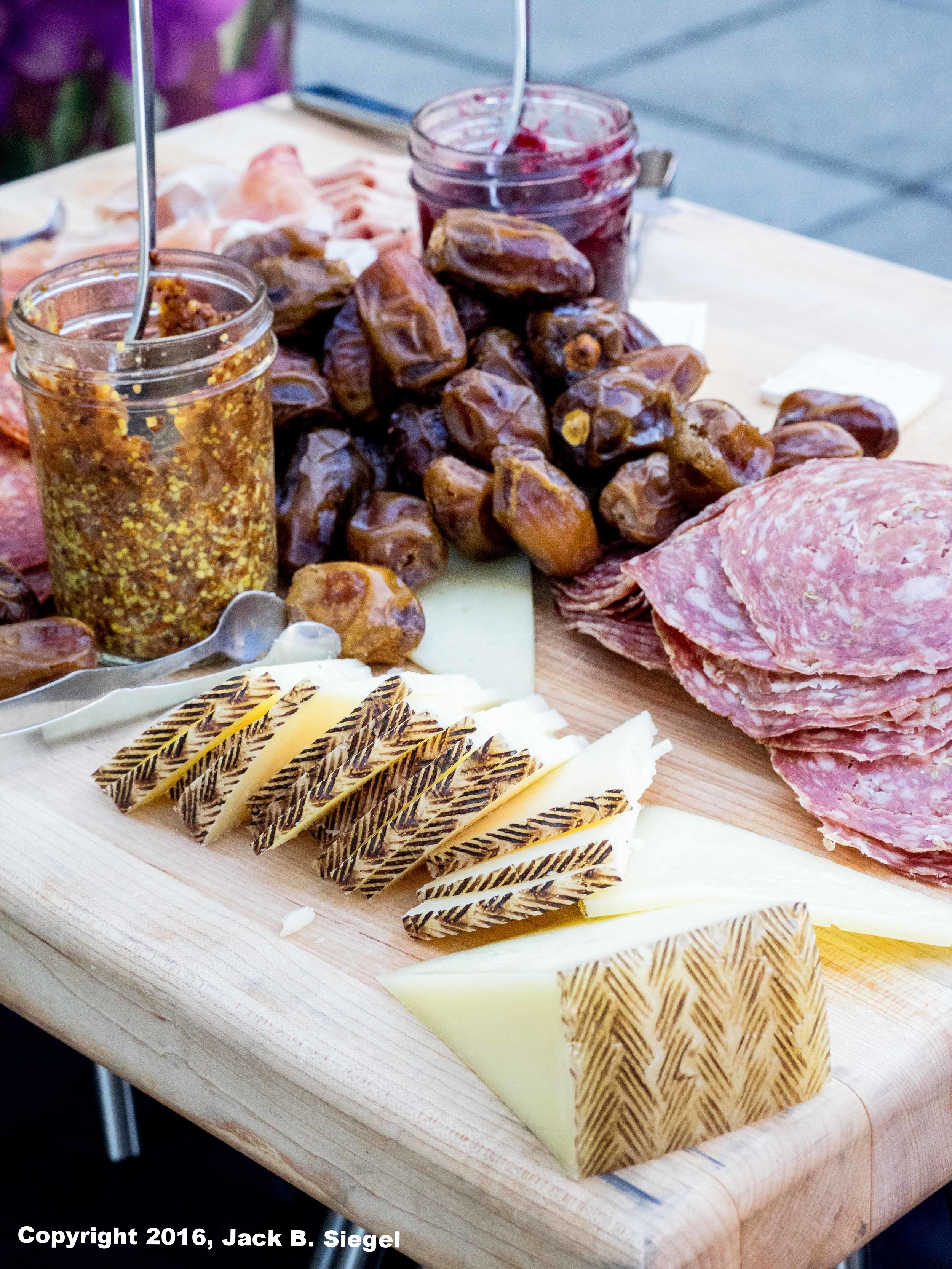Italian Meats, Cheese, and Figs
