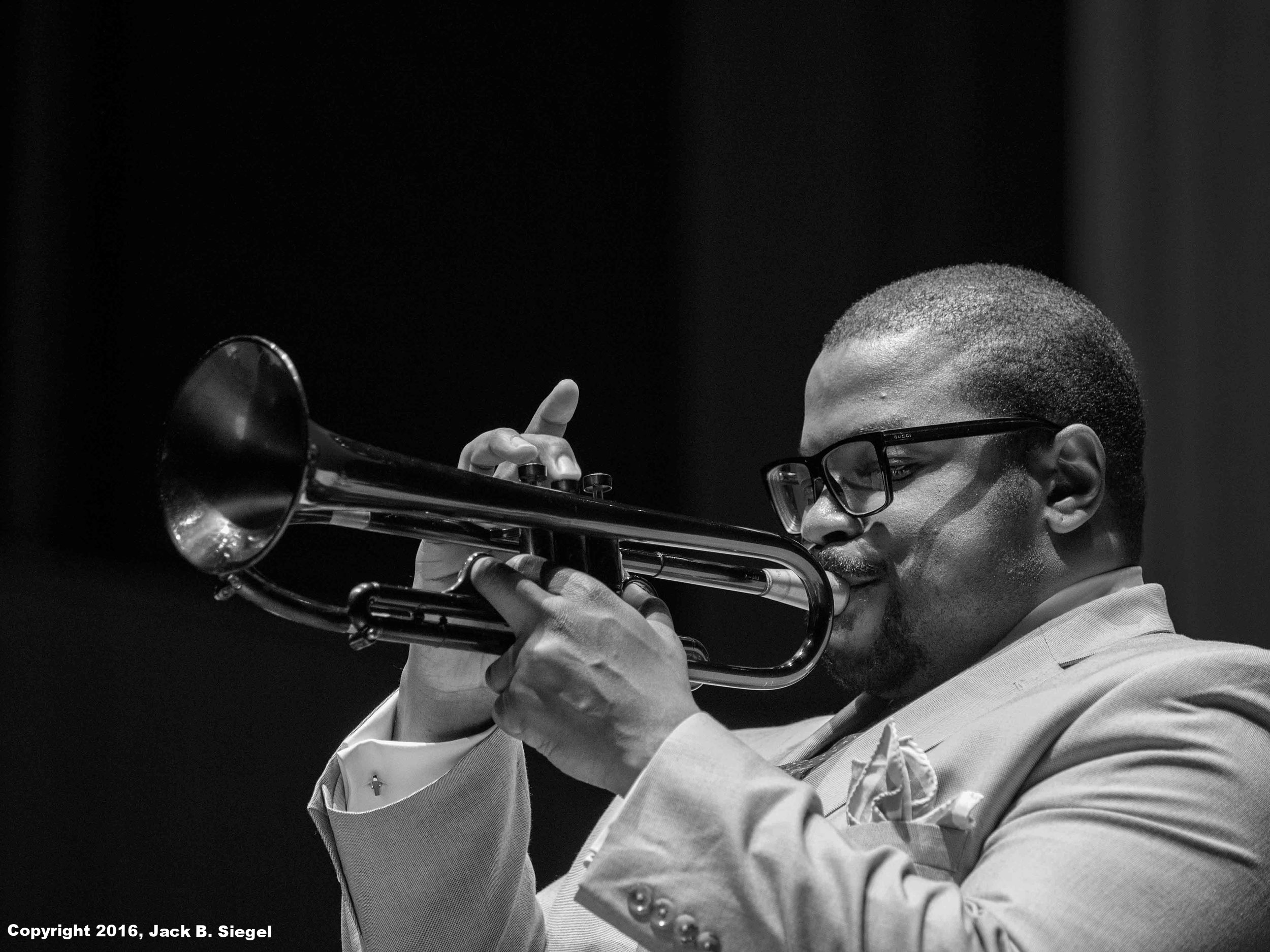 Jeremy Pelt on Trumpet