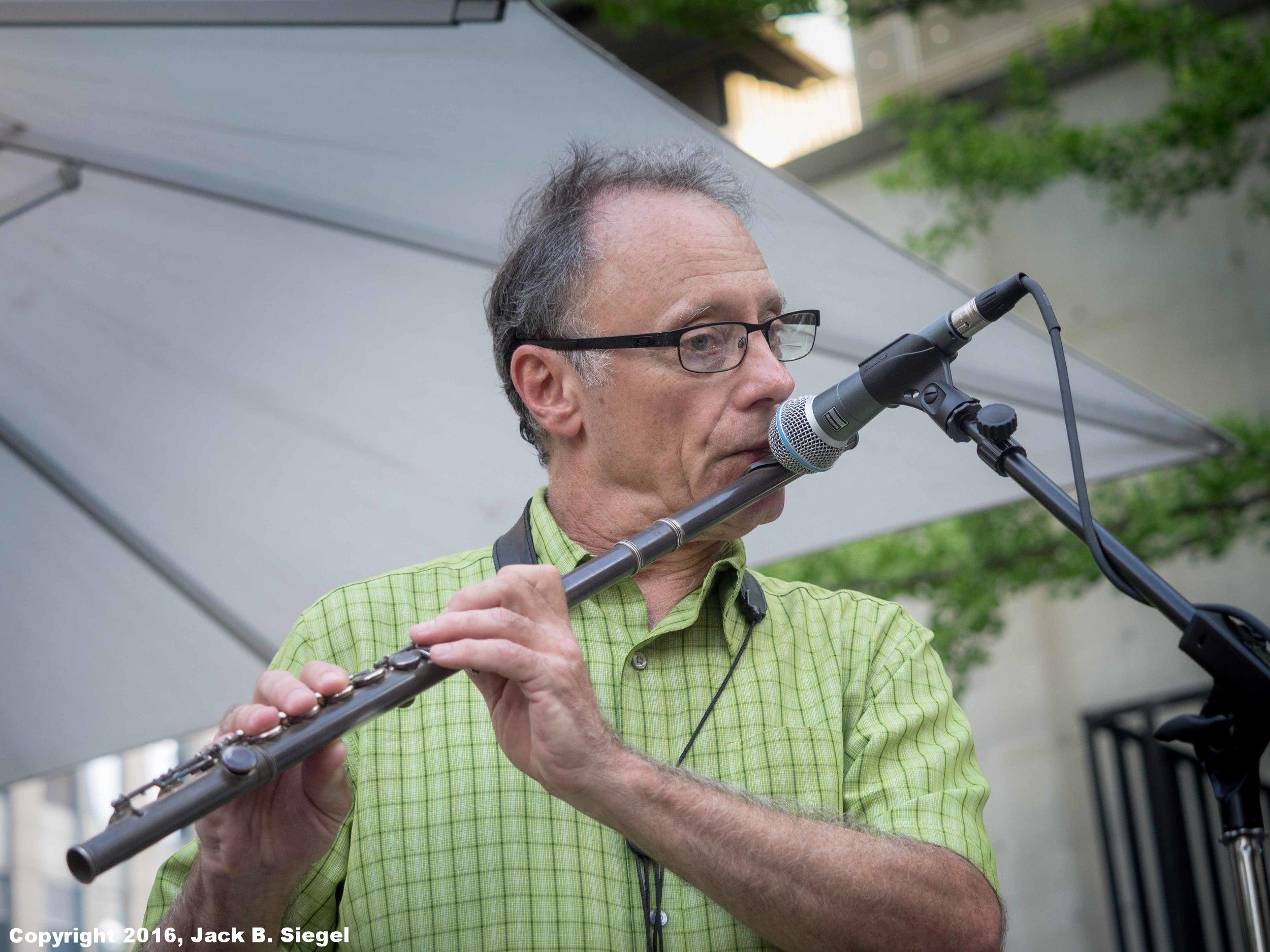 Steve Eisen on Flute
