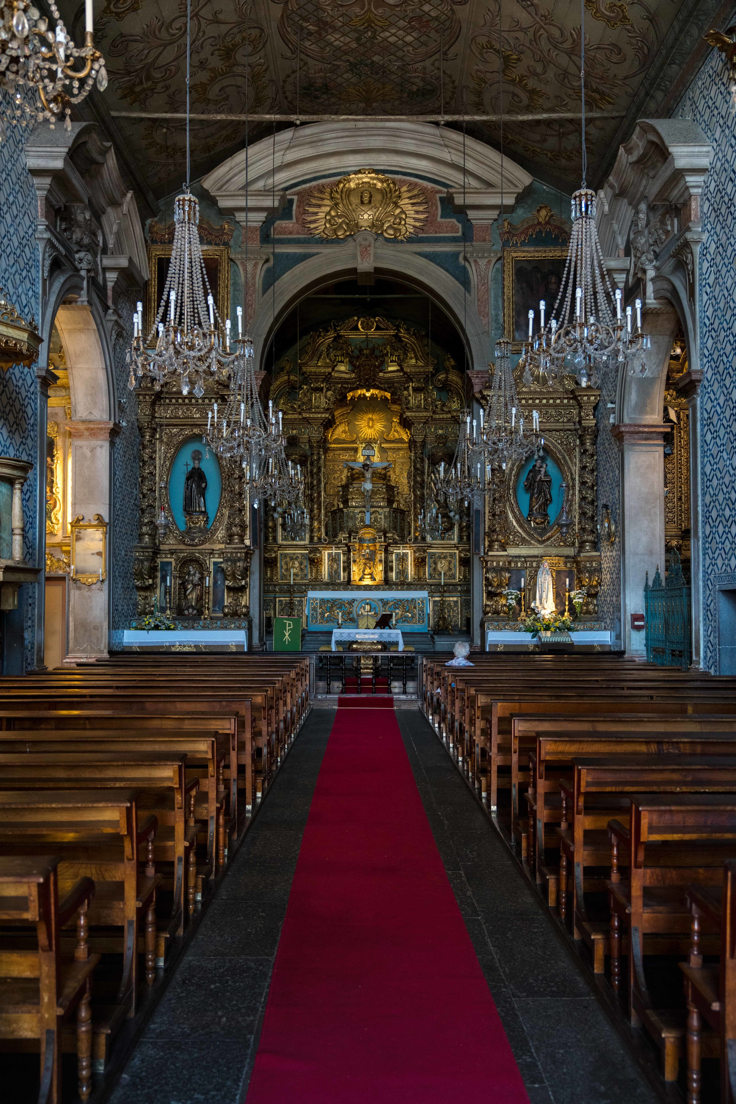 Main Sanctuary in Funchal Church
