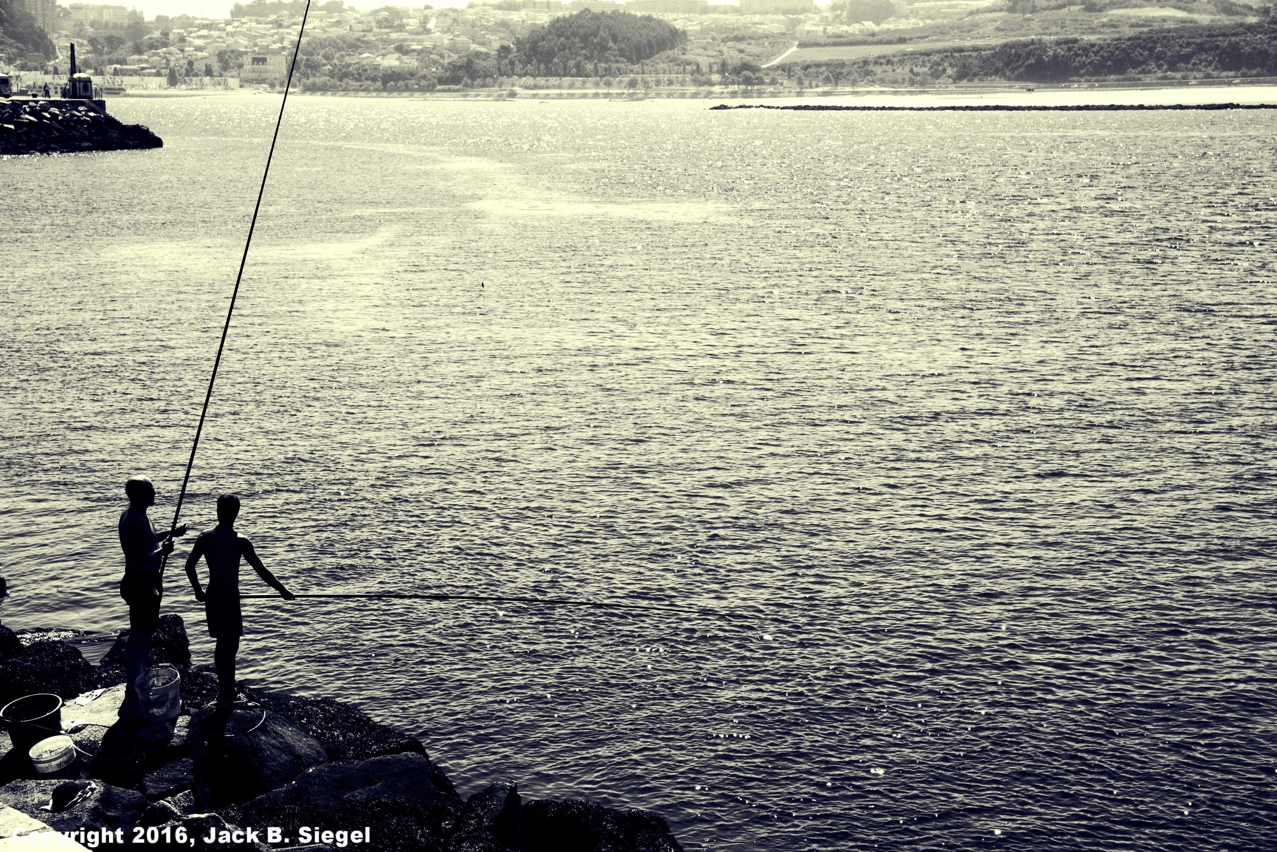 Fishing in Foz