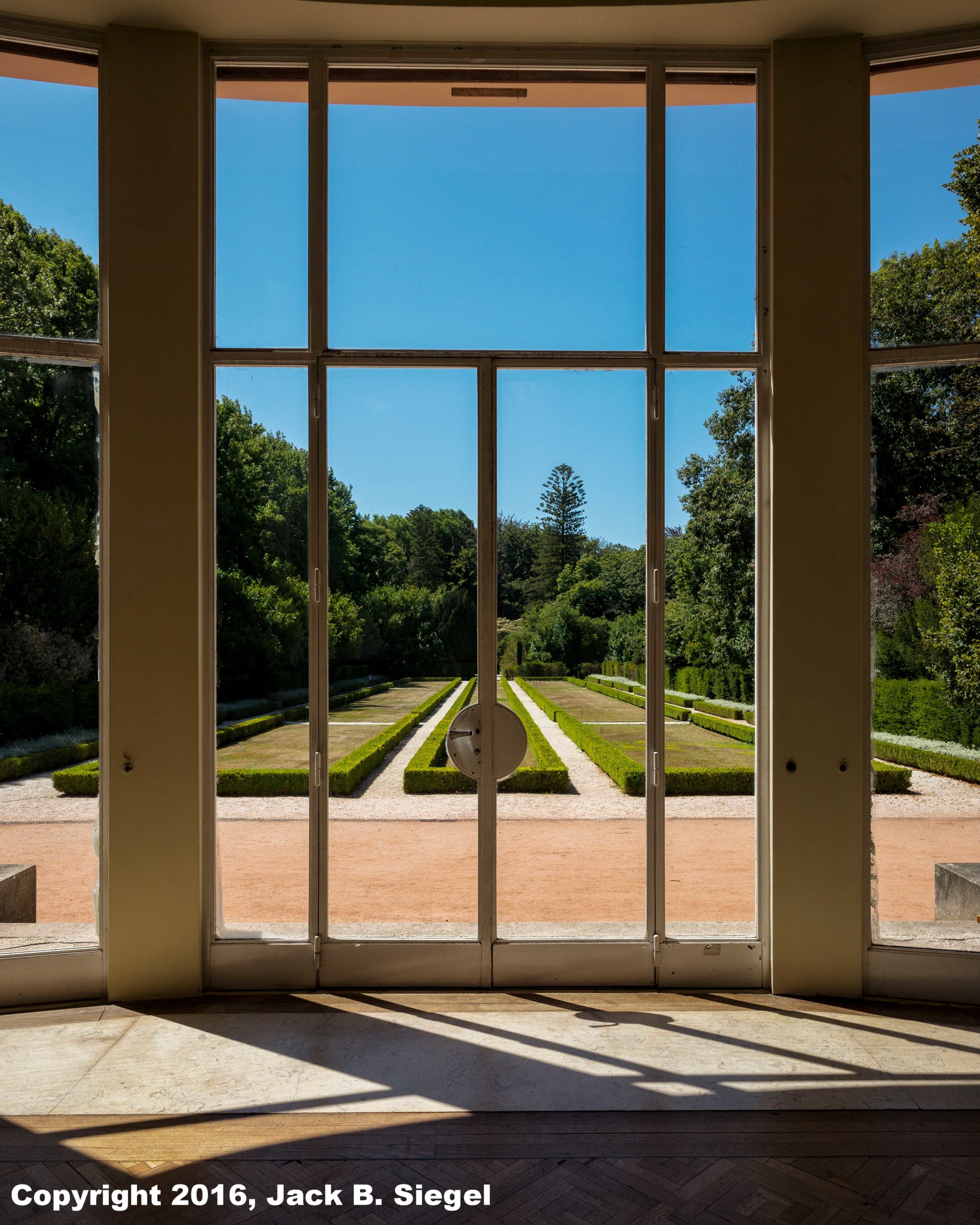 Looking Out from the Case de Serralves