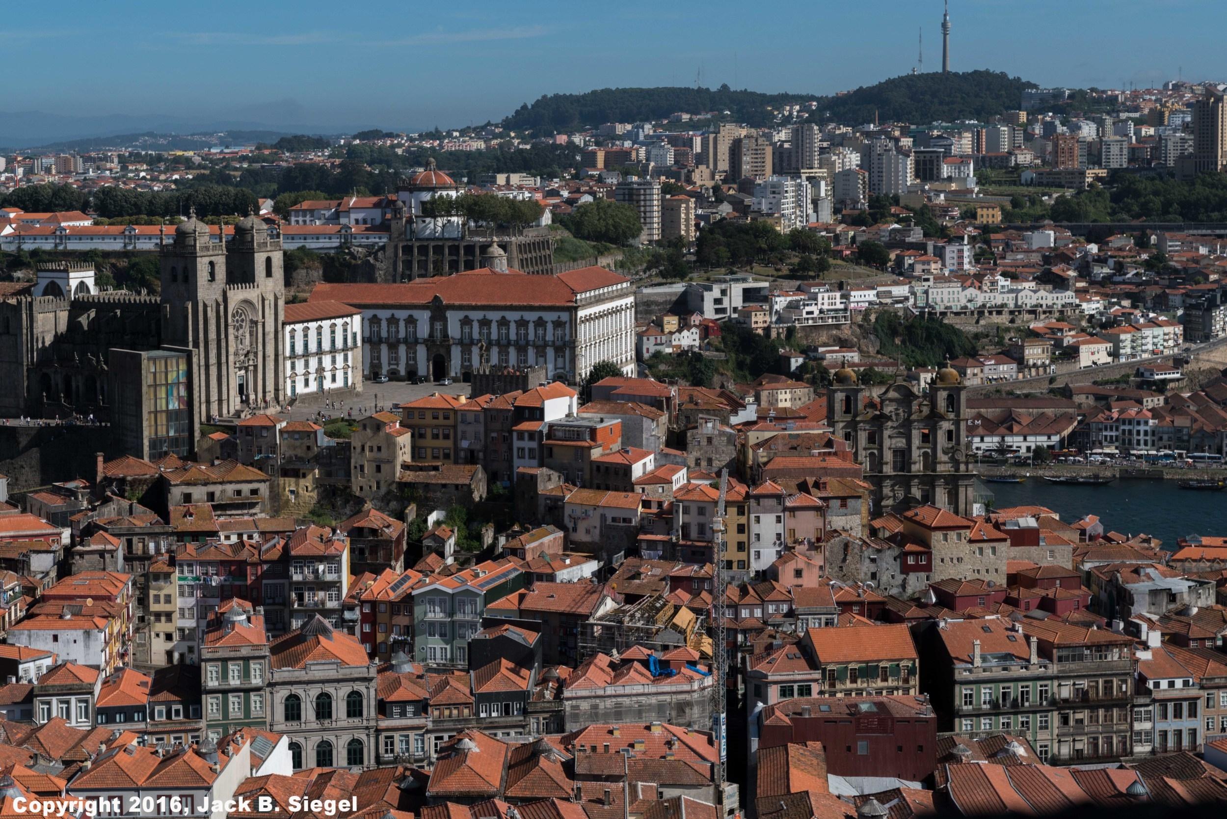 Lisbon From an Elevator