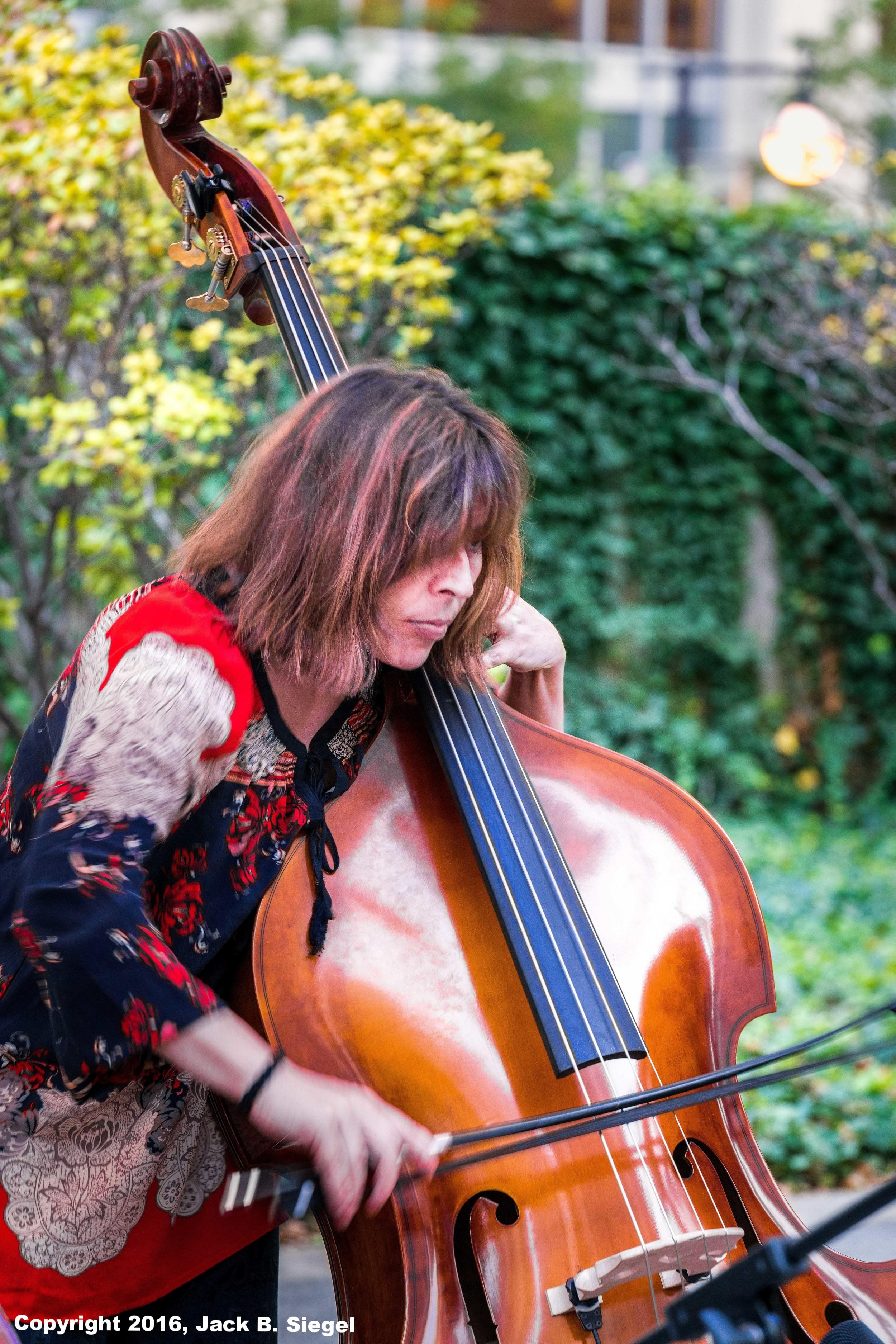 Sylvia Bolognesi on Bass