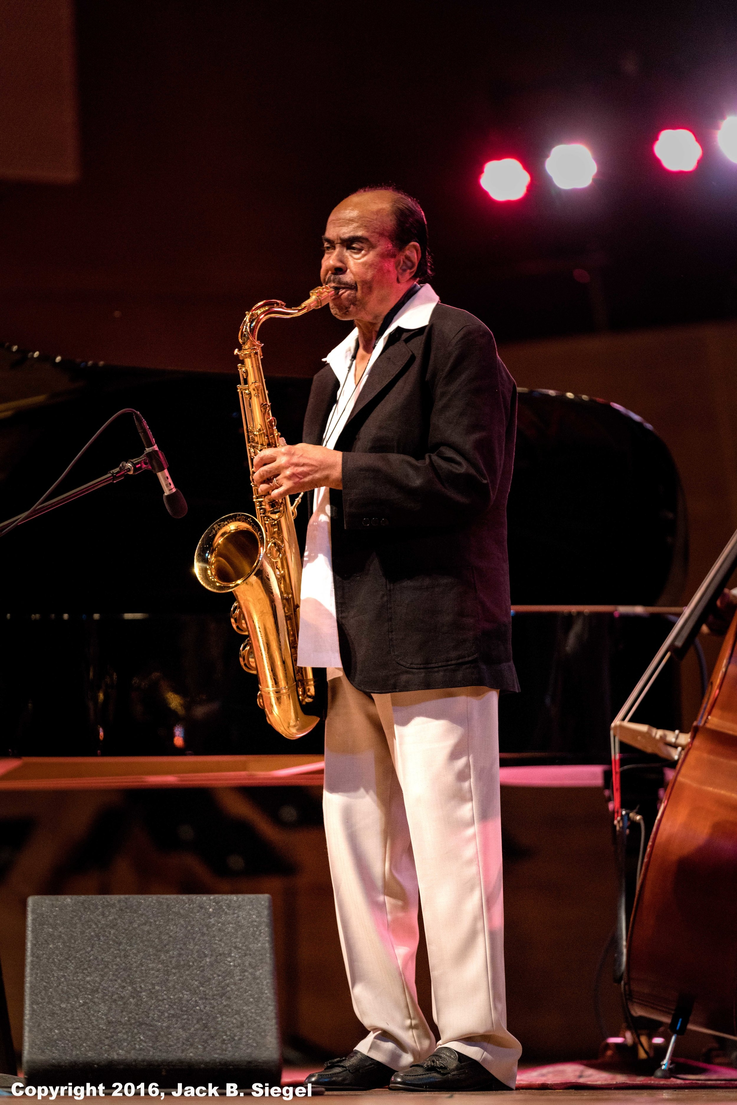 Benny Golson Working