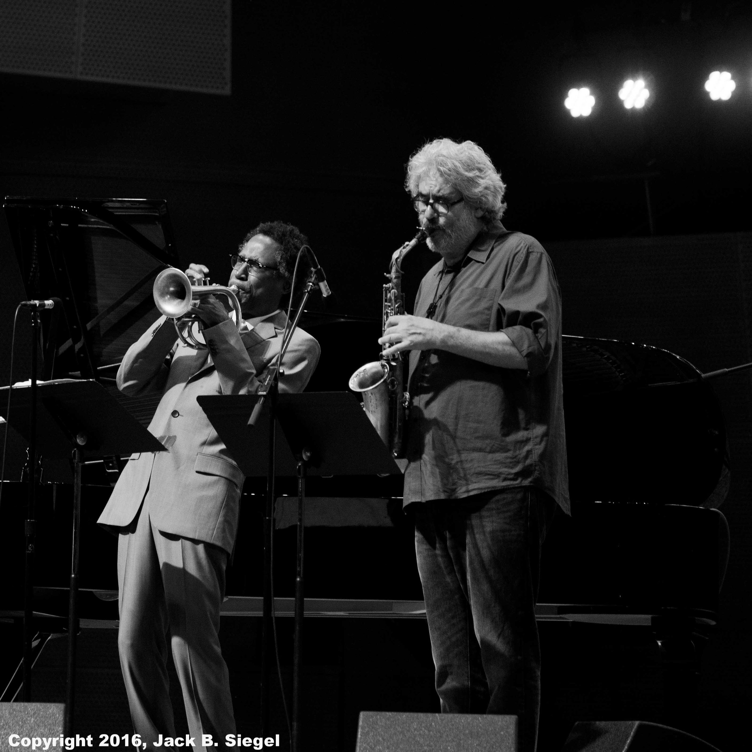 Ron Miles and Tim Berne with the Bad Plus