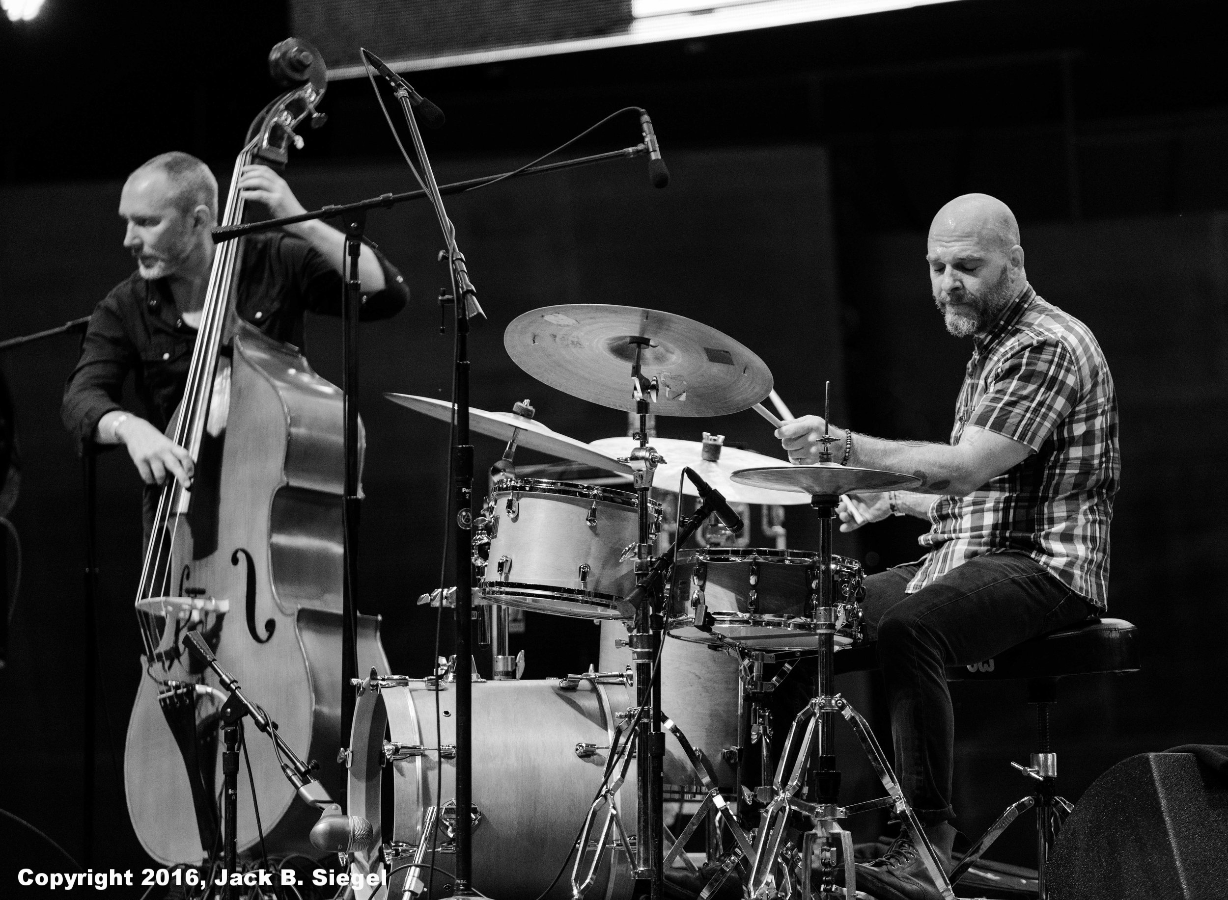 Reid Anderson and Dave King of the Bad Plus