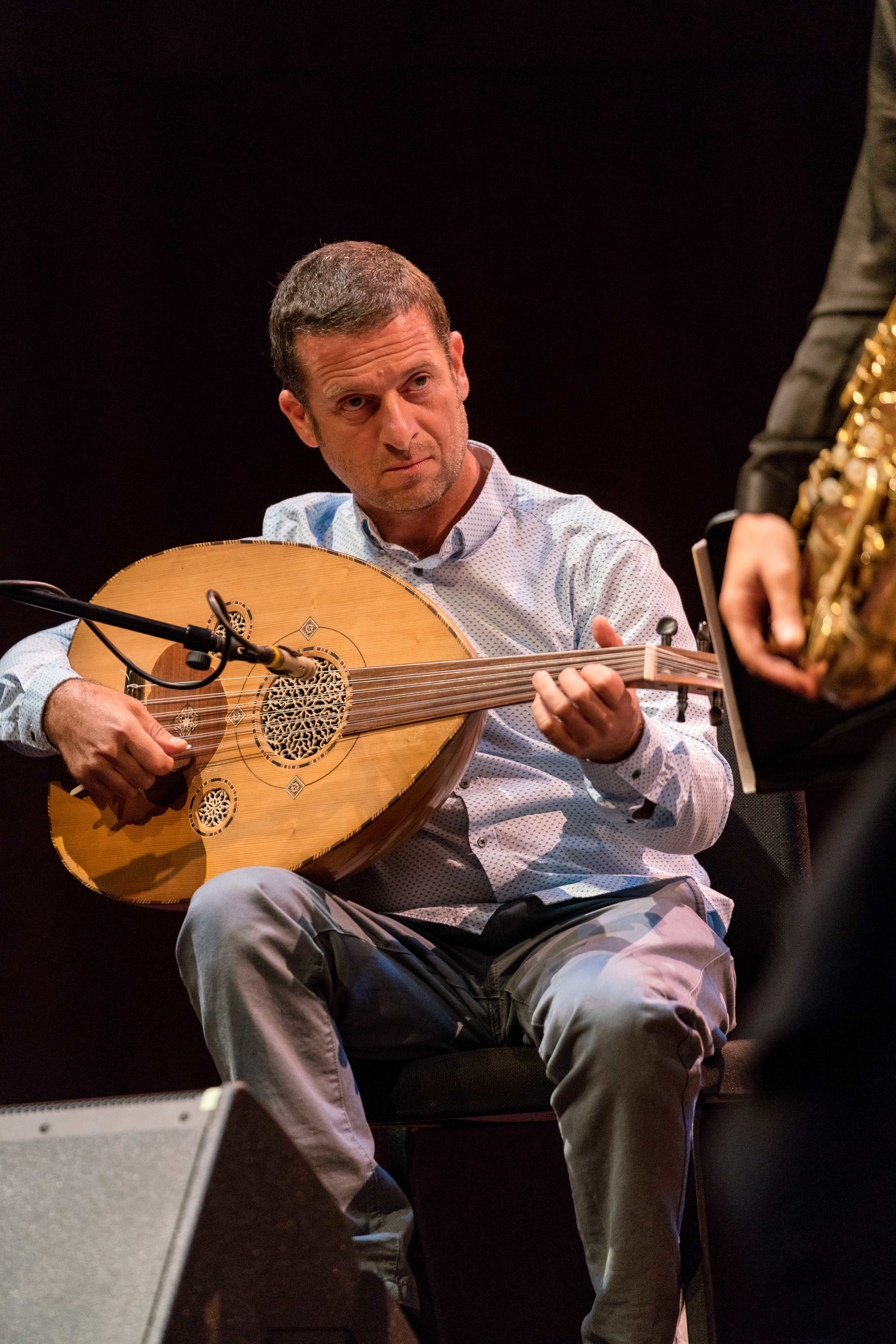 Tareq Abboushi on Buzuq (Long-neck Lute)