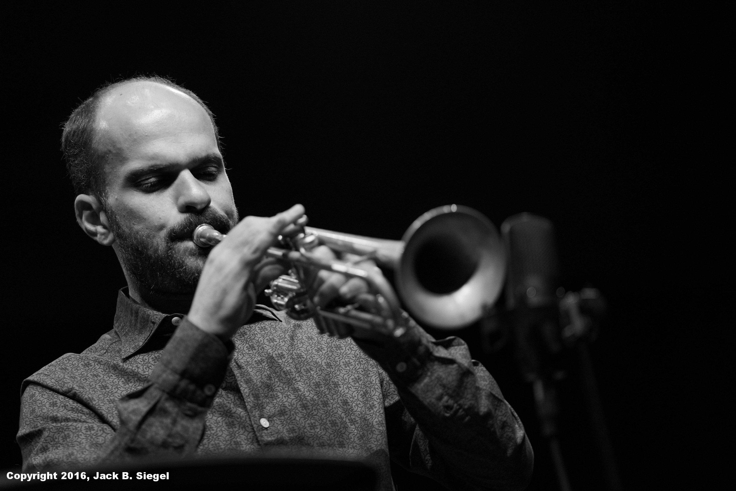 Amir ElSaffar on Trumpet
