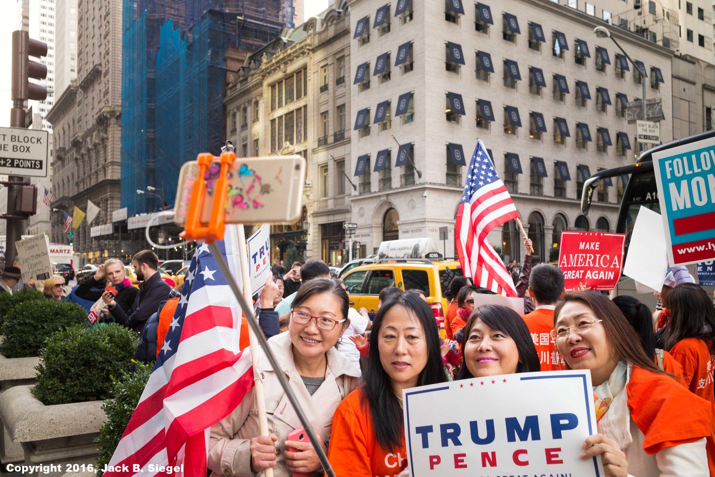 The Trump Girls Take a Selfie
