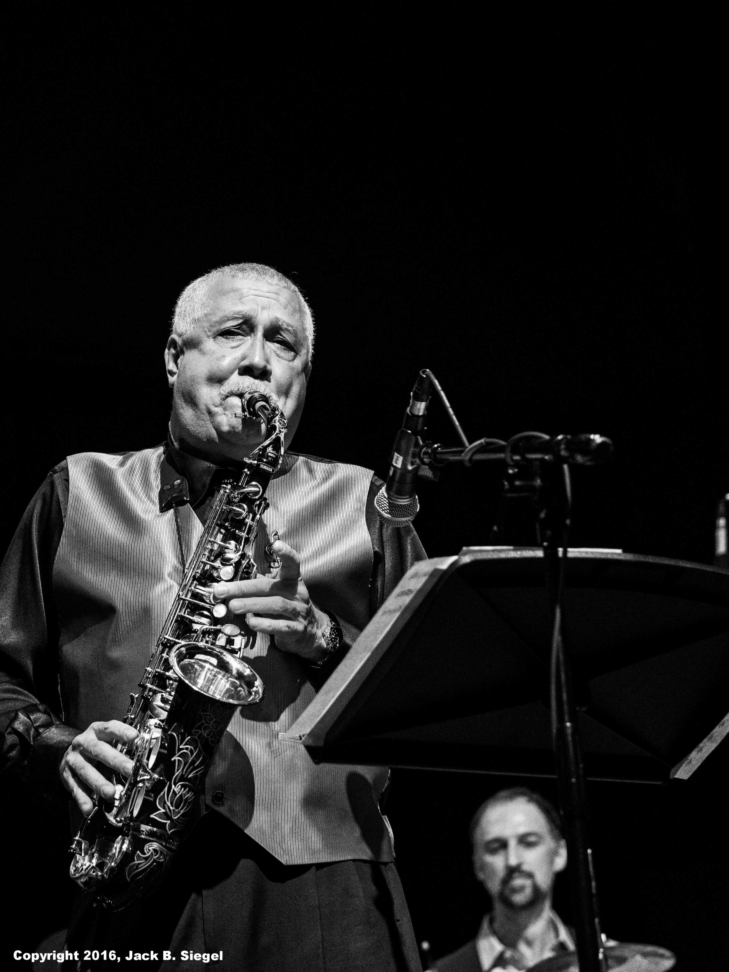 Paquito D'Rivera on Saxophone