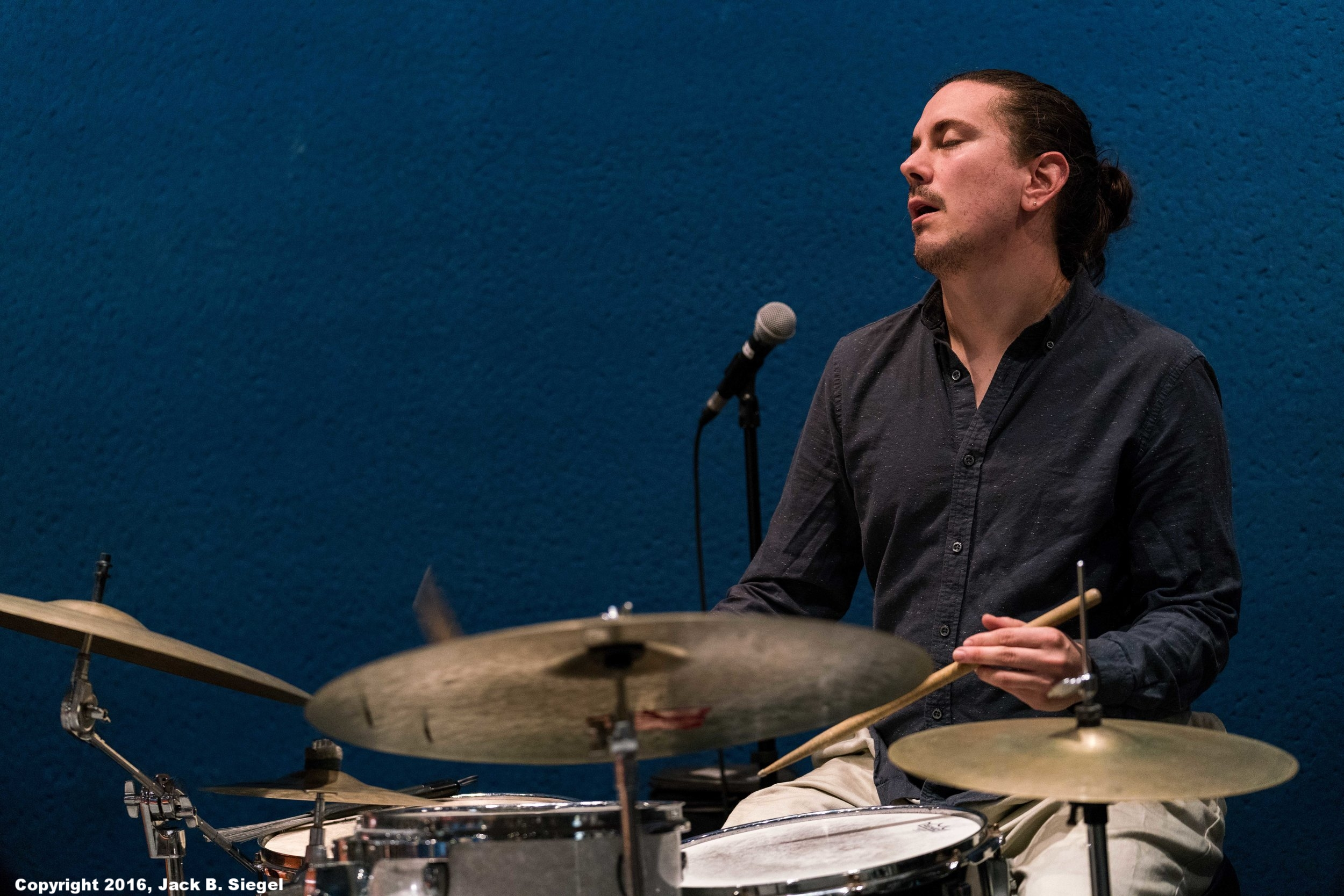 Gustavo Cortinas on Drums