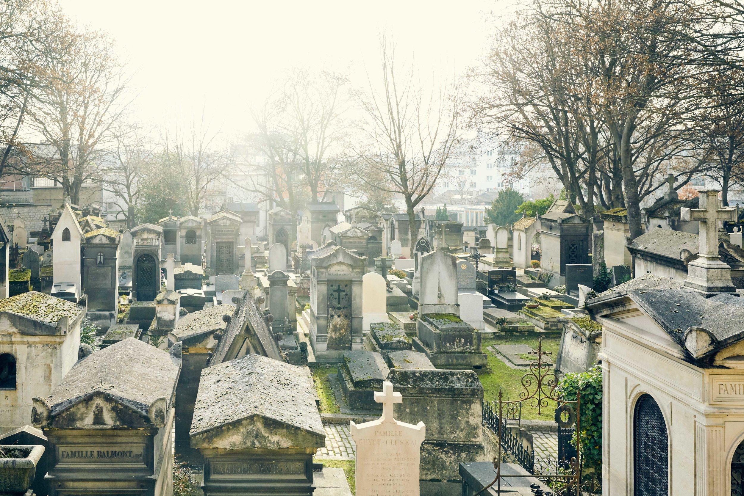 Backlit: Père Lachaise Cemetery