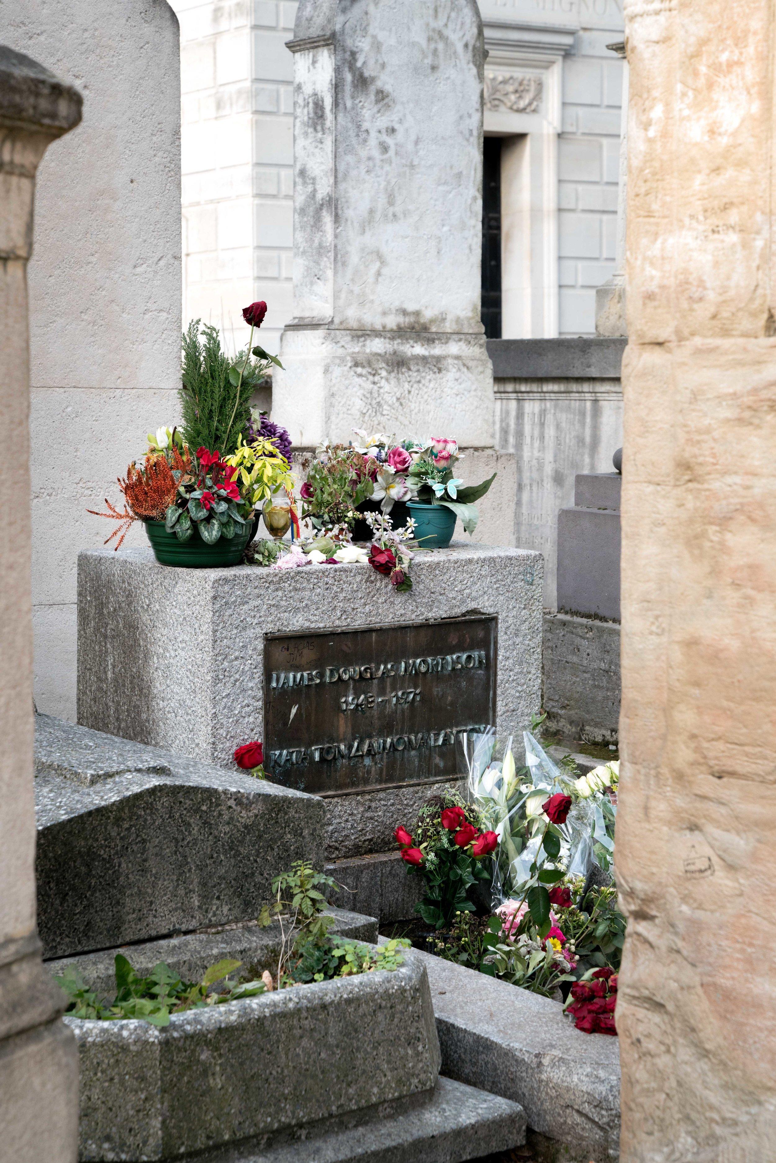 James Douglas Morrison: Final Resting Place