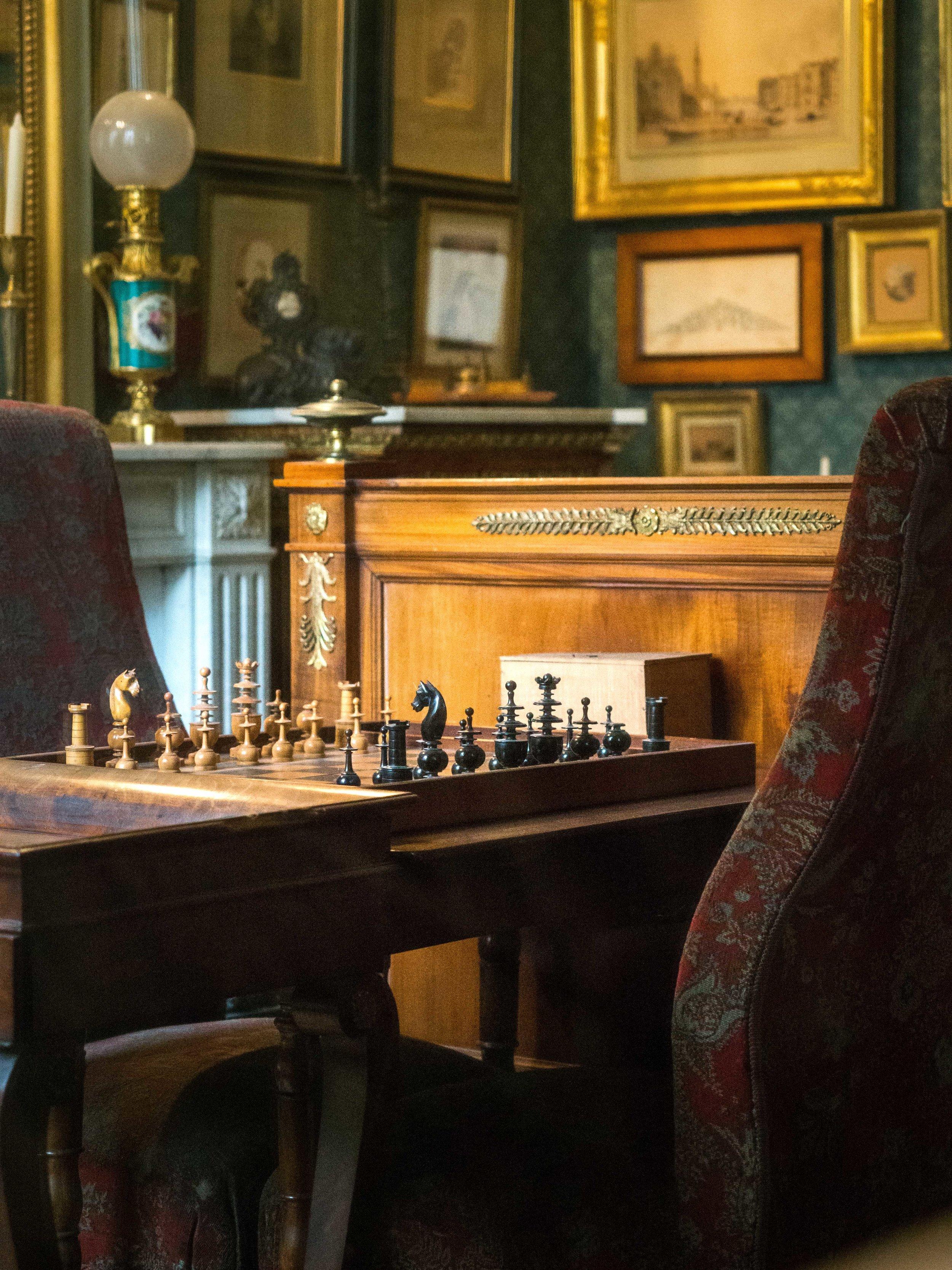 Gustave Moreau: Chess Set