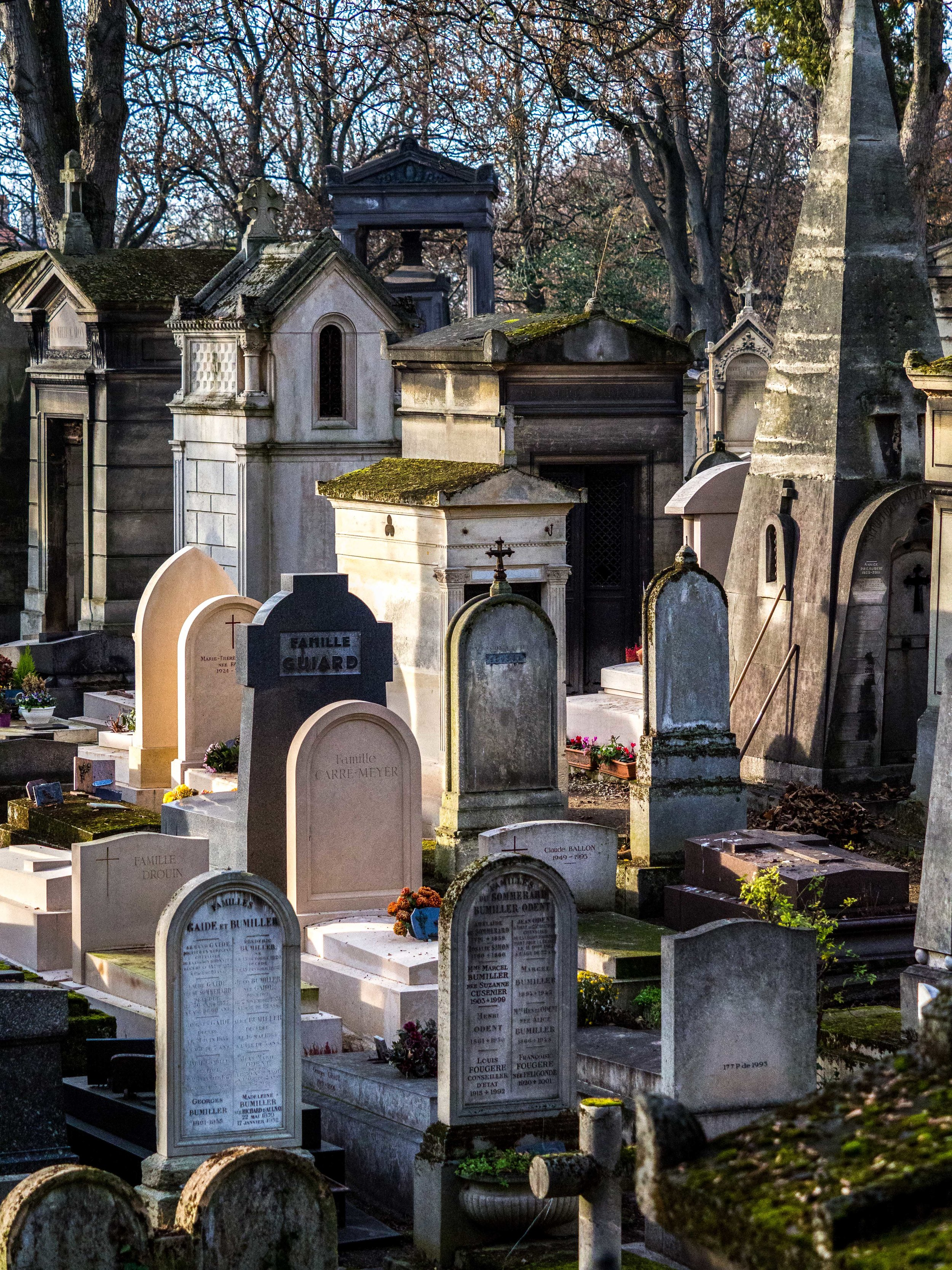 Afternoon Tombs