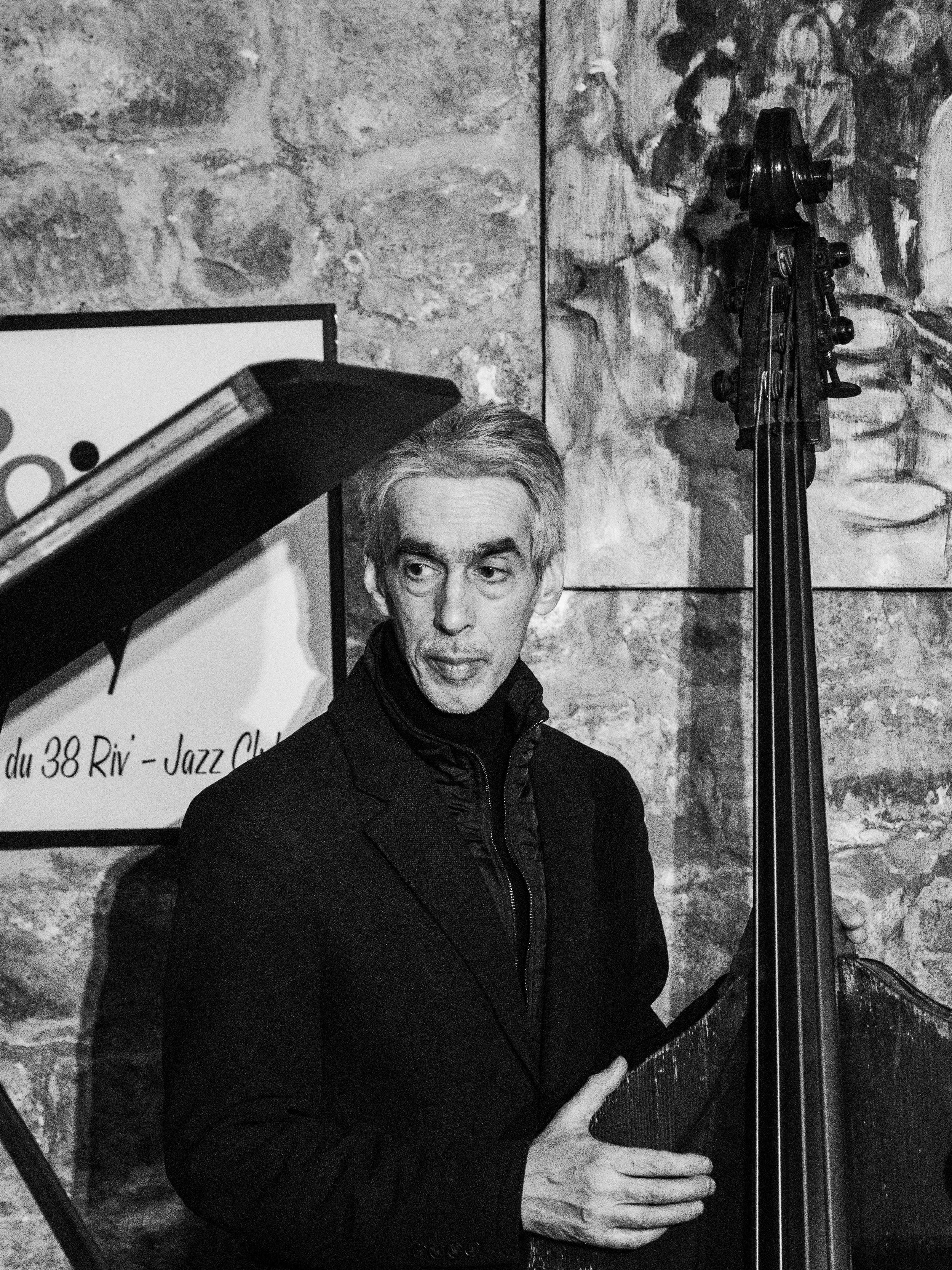 Bass Player at 38 Riv Jazz Club