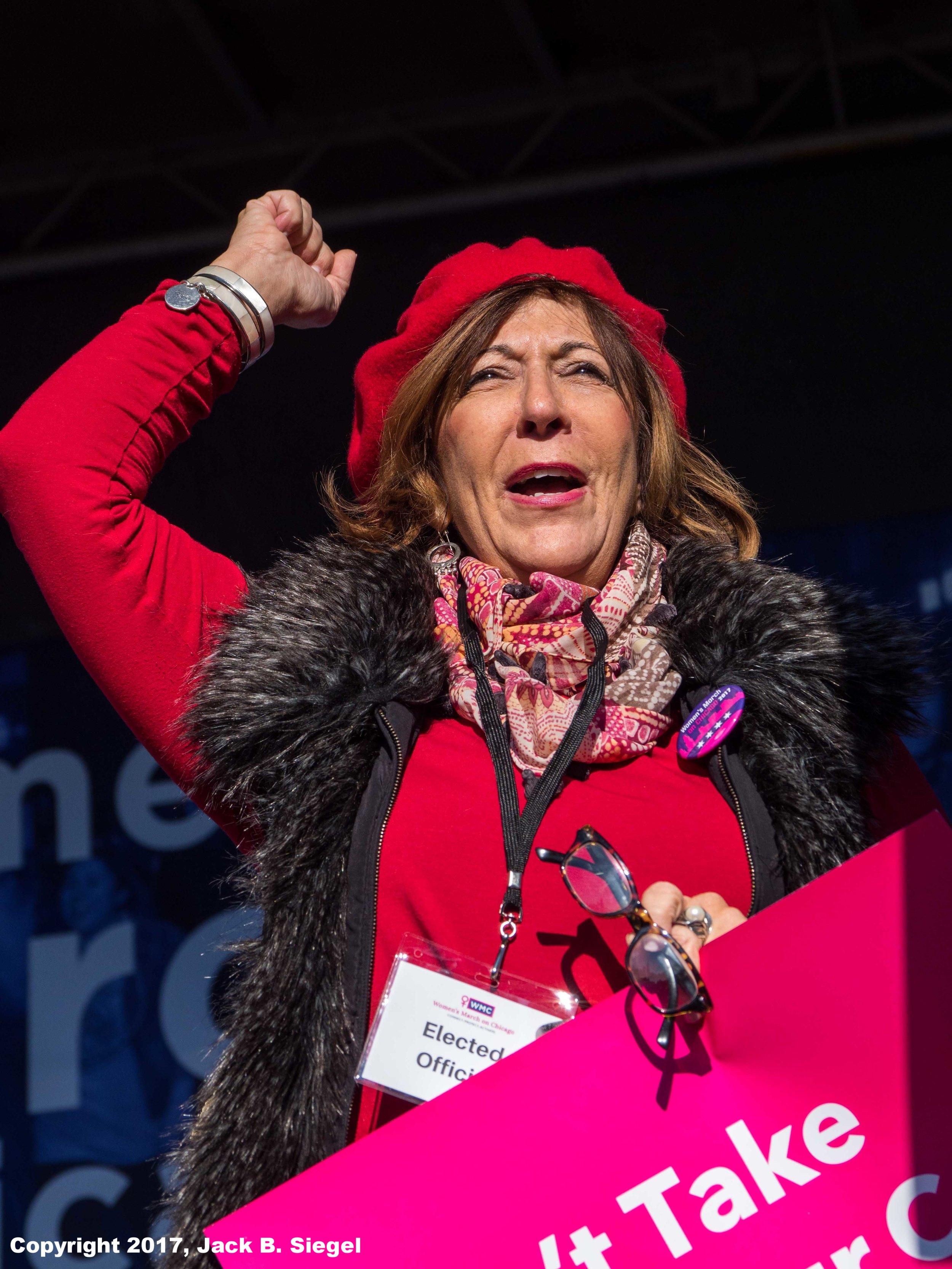 State Representative Sara Feigenholtz