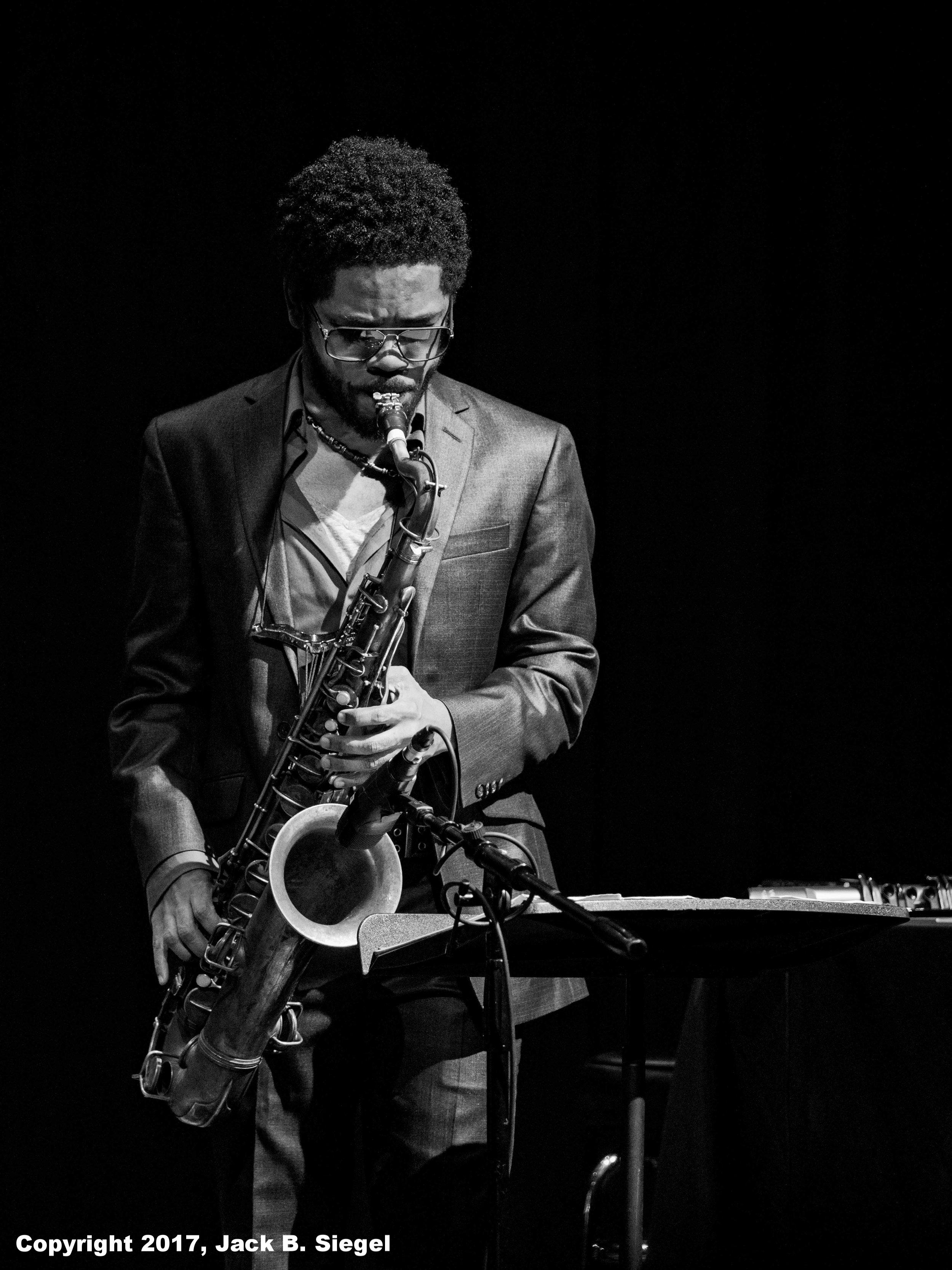 Mark Shin on Saxophone
